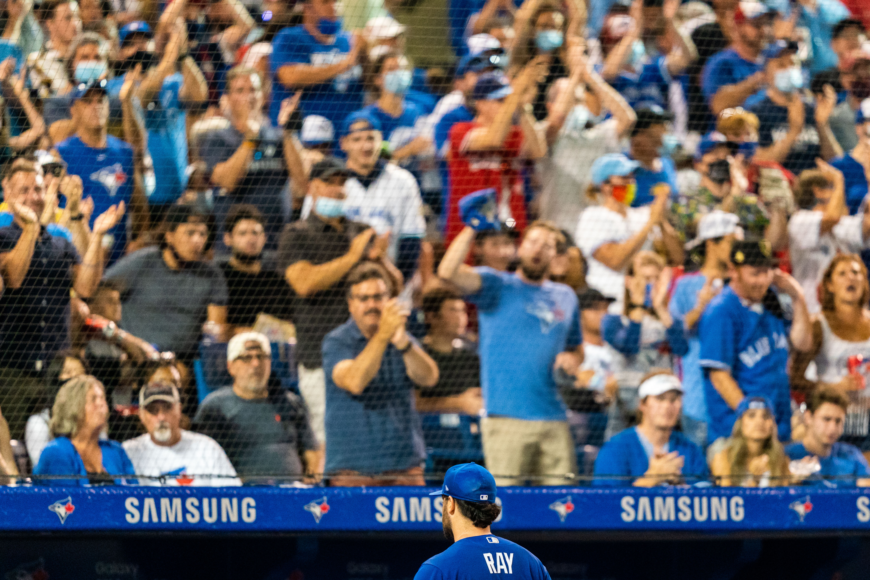 MLB: Game One-Boston Red Sox at Toronto Blue Jays