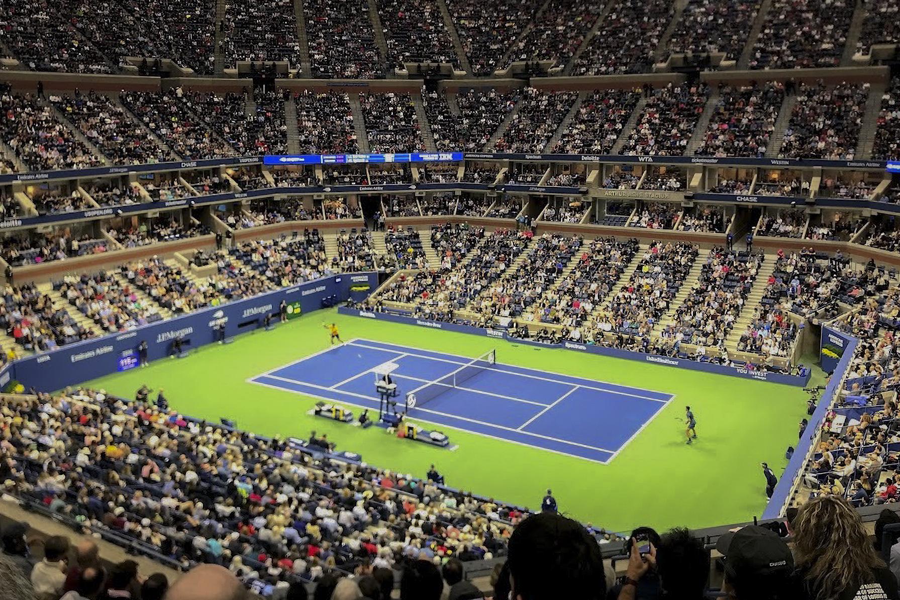 Men's Final between Novak Djokovic and Juan del Martín Potro in the U.S. Open at Arthur Ashe Stadium in Queens. Sunday, Sept. 9 2018.