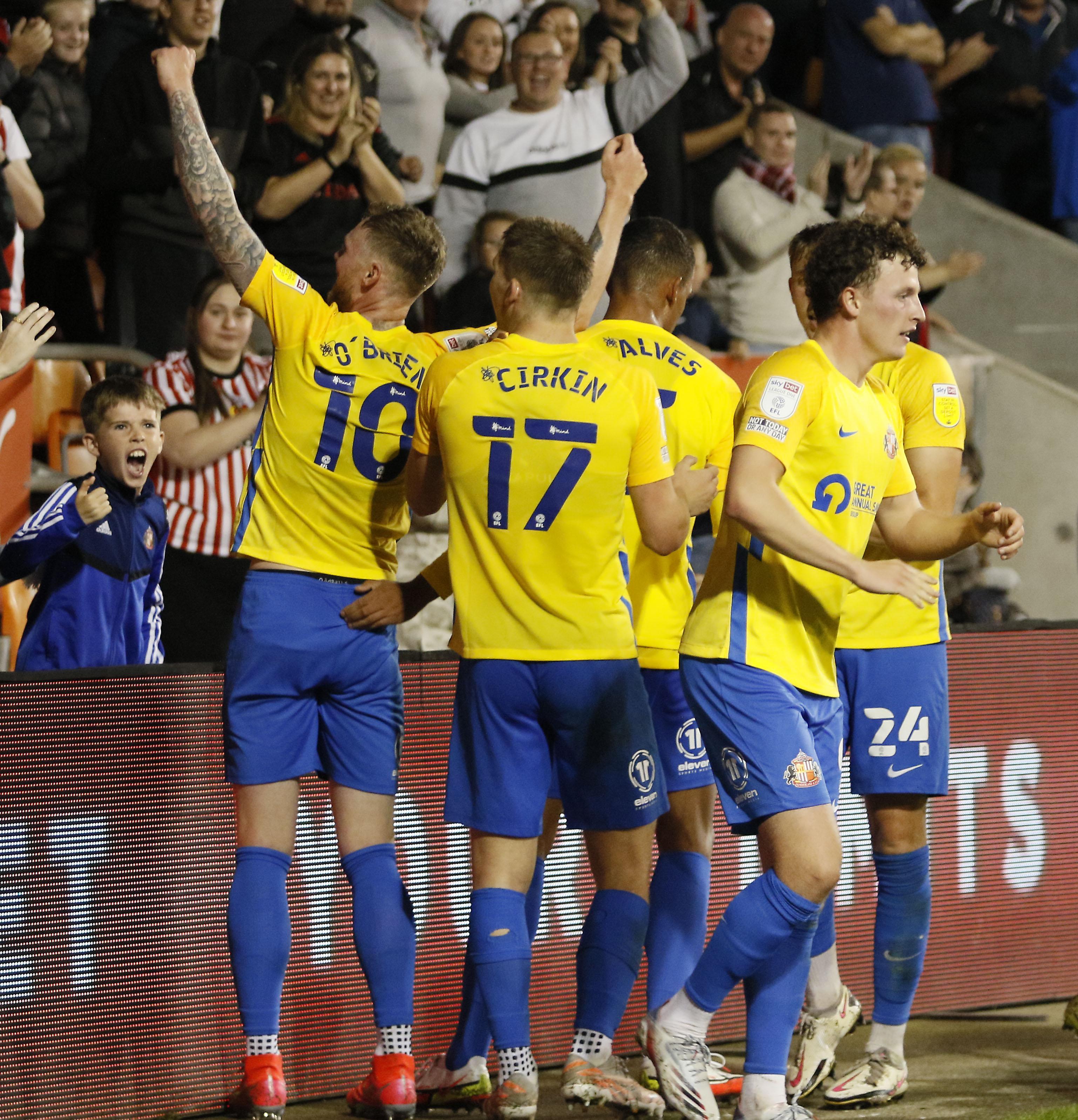Blackpool v Sunderland - Carabao Cup Second Round