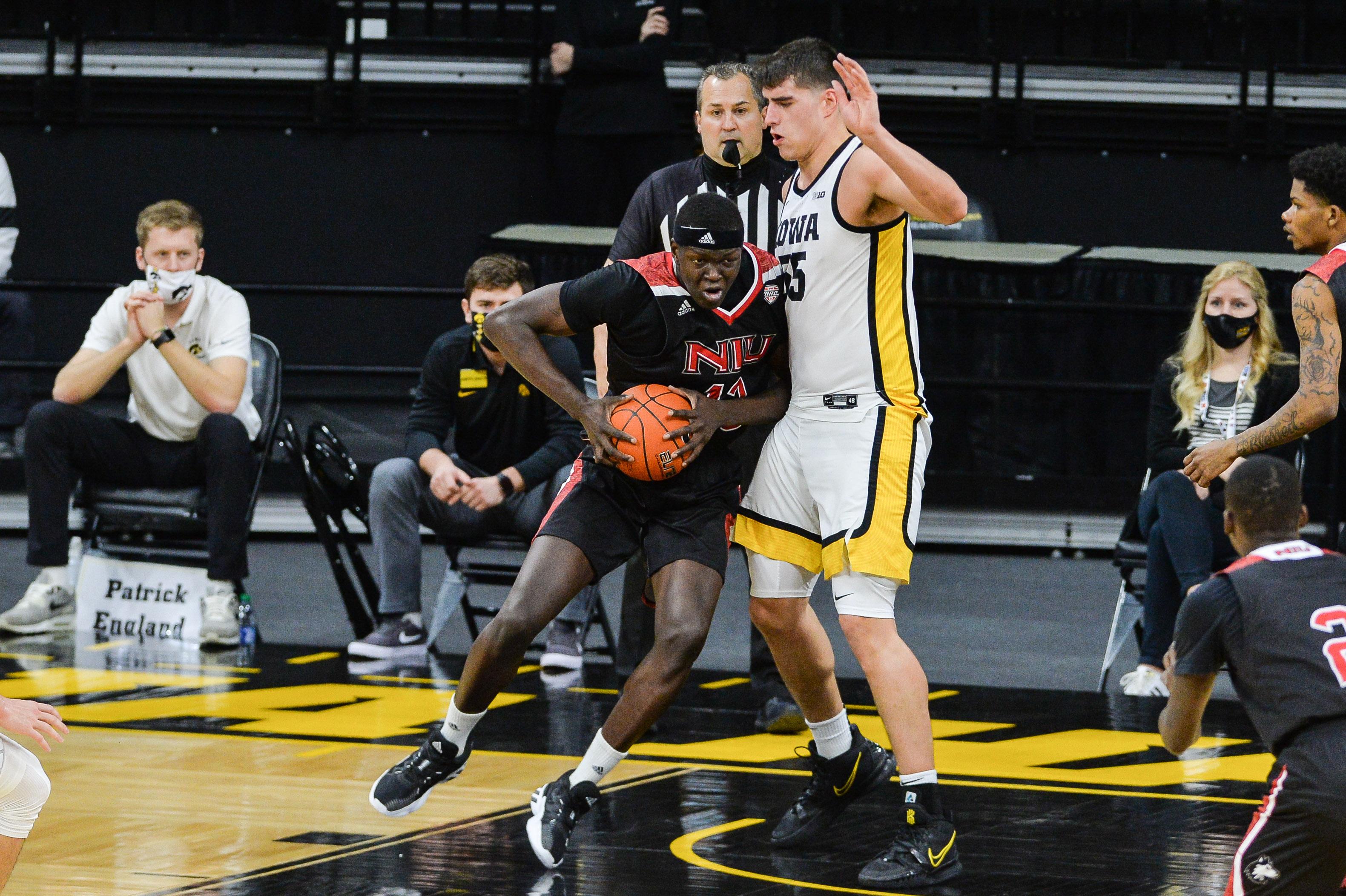 NCAA Basketball: Northern Illinois at Iowa