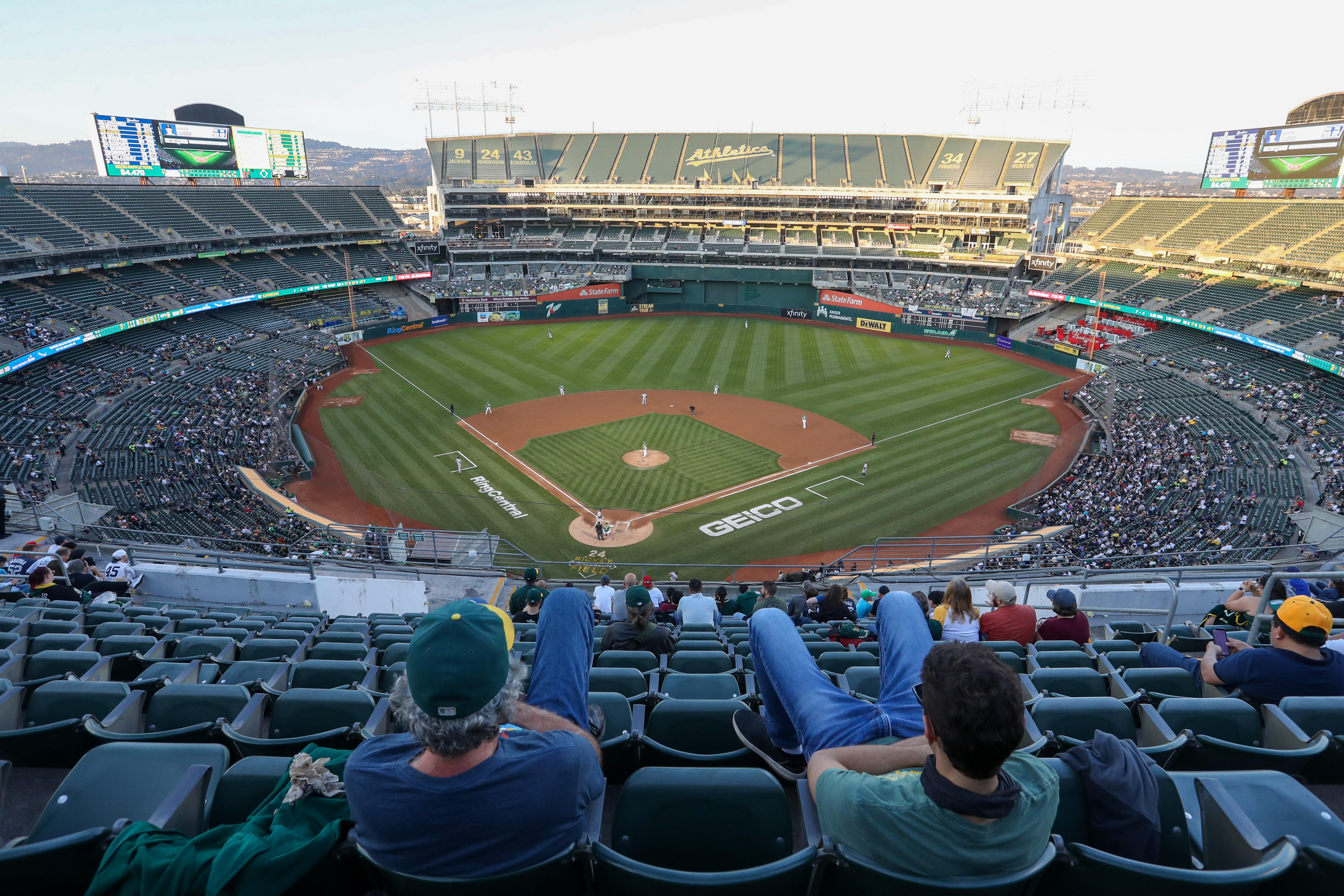 MLB: AUG 26 Yankees at Athletics