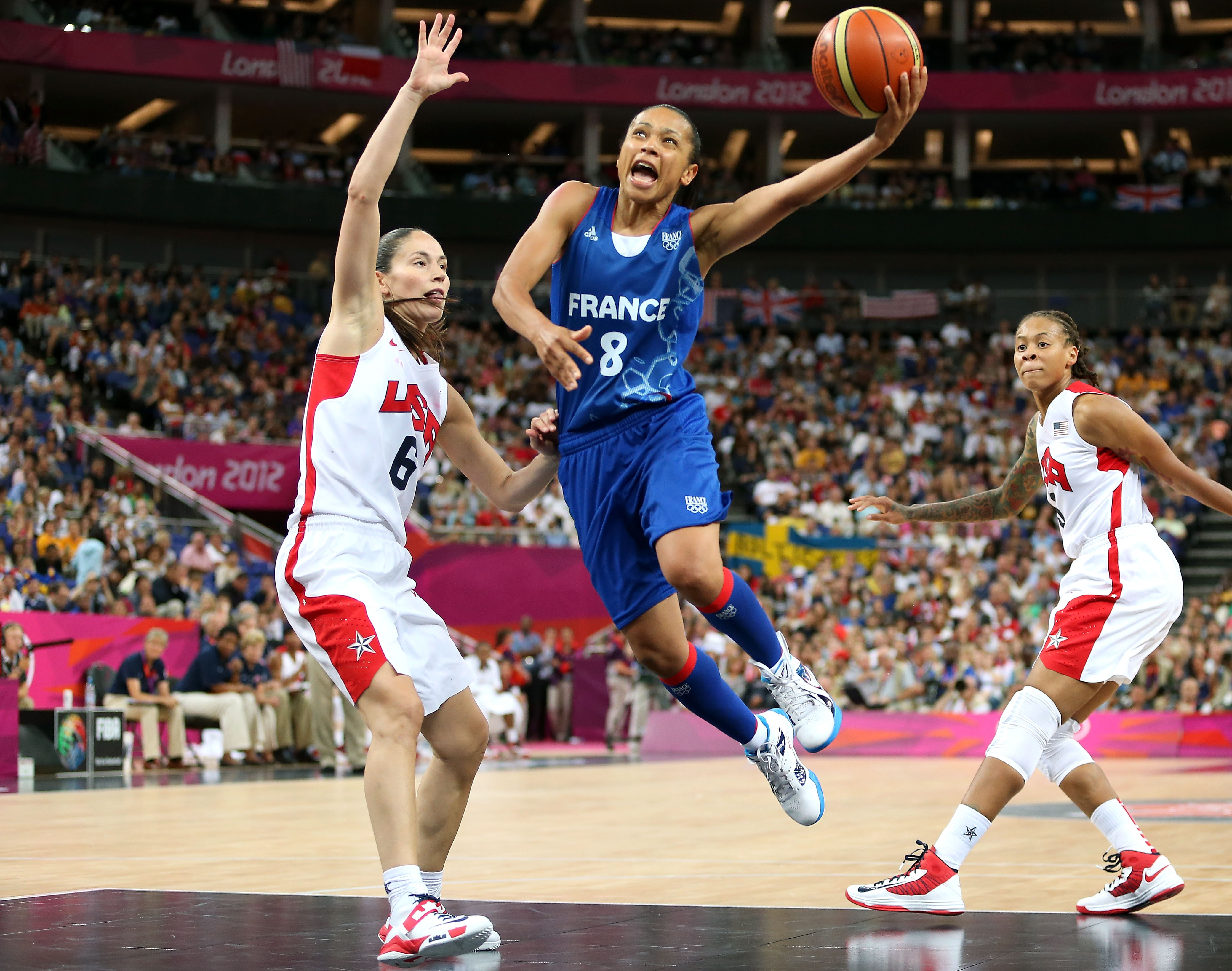 Edwige Lawson-Wade helped France win silver at the 2012 Olympics.