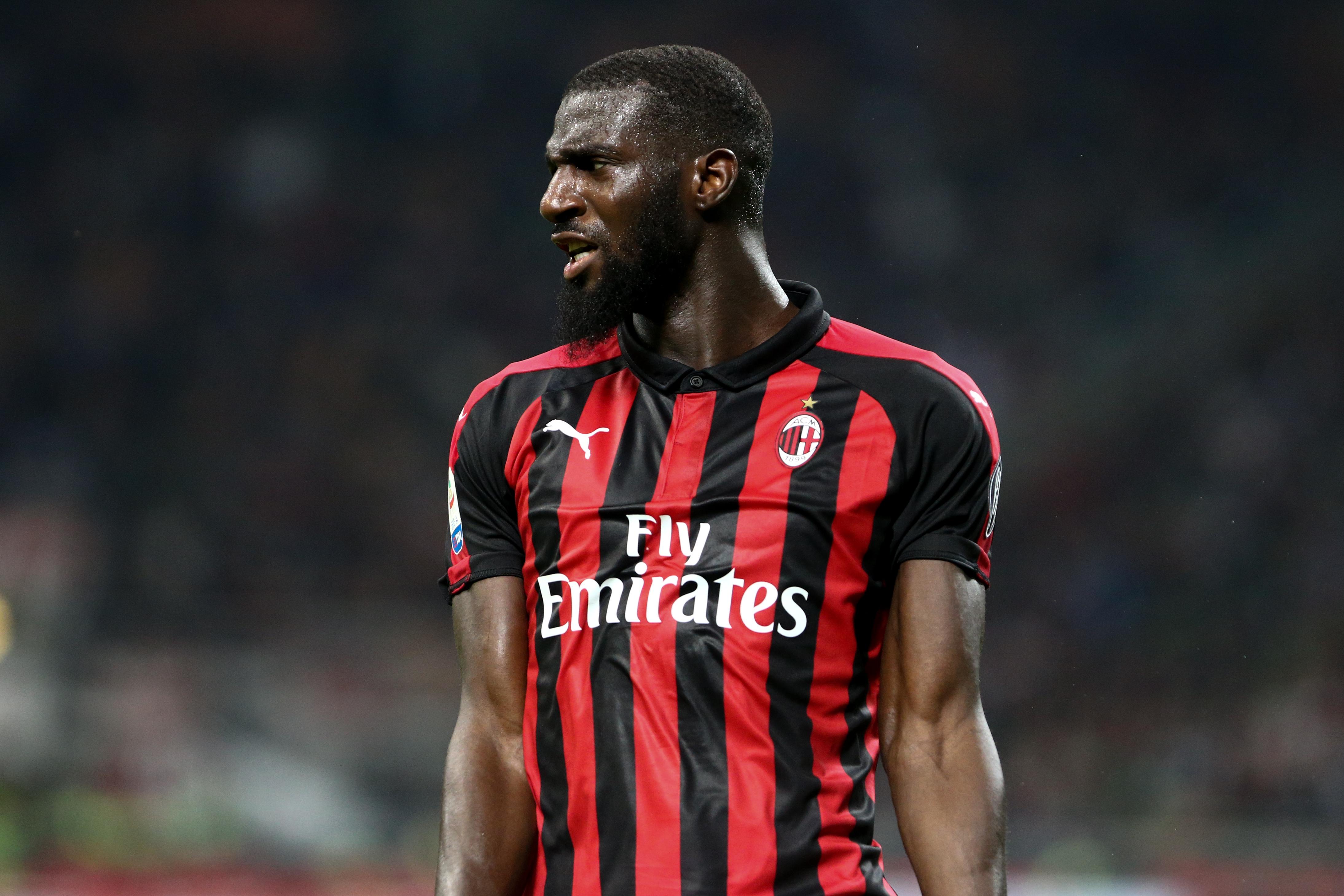 Tiemoue Bakayoko of Ac Milan during the Serie A football...