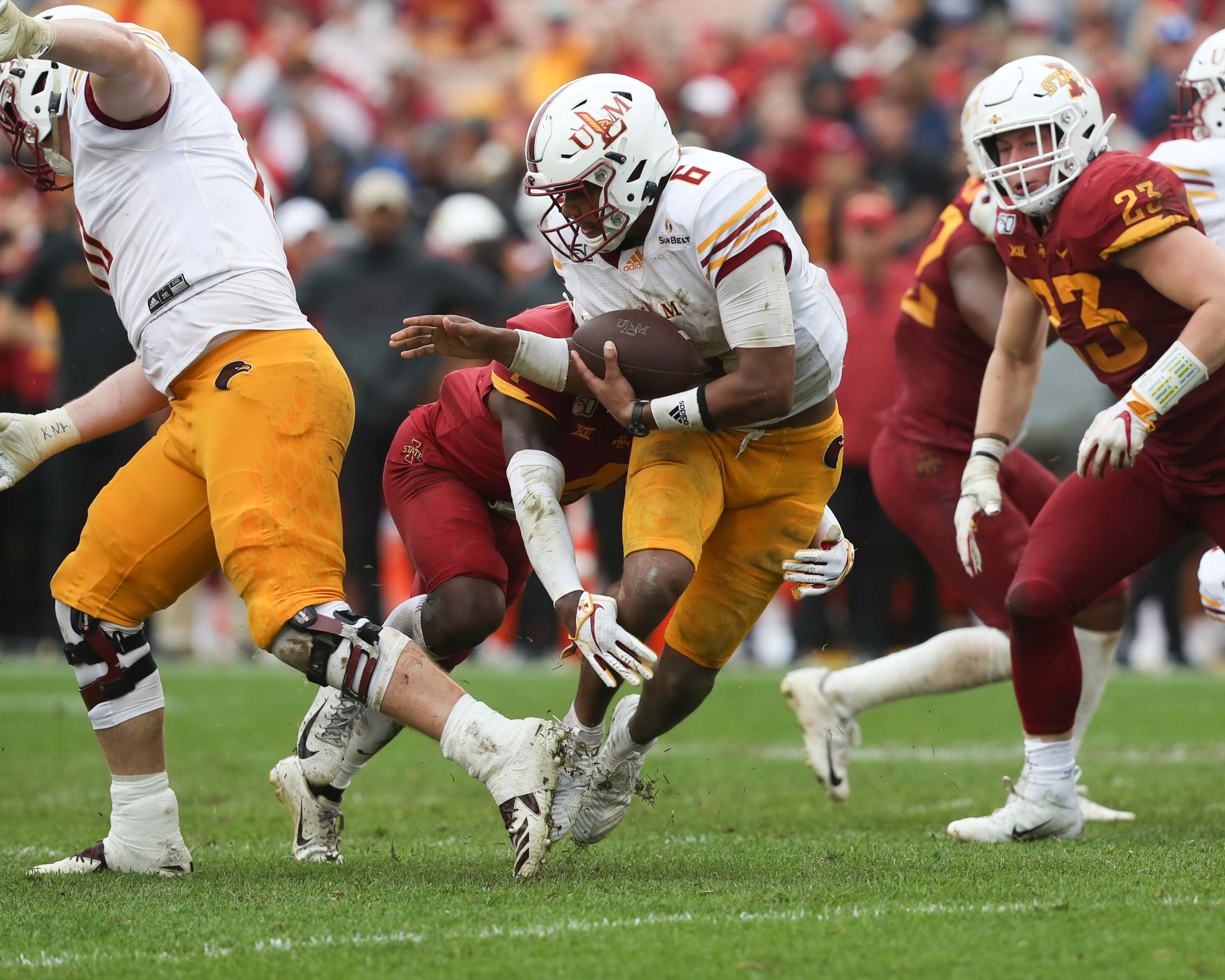 NCAA Football: UL Monroe at Iowa State