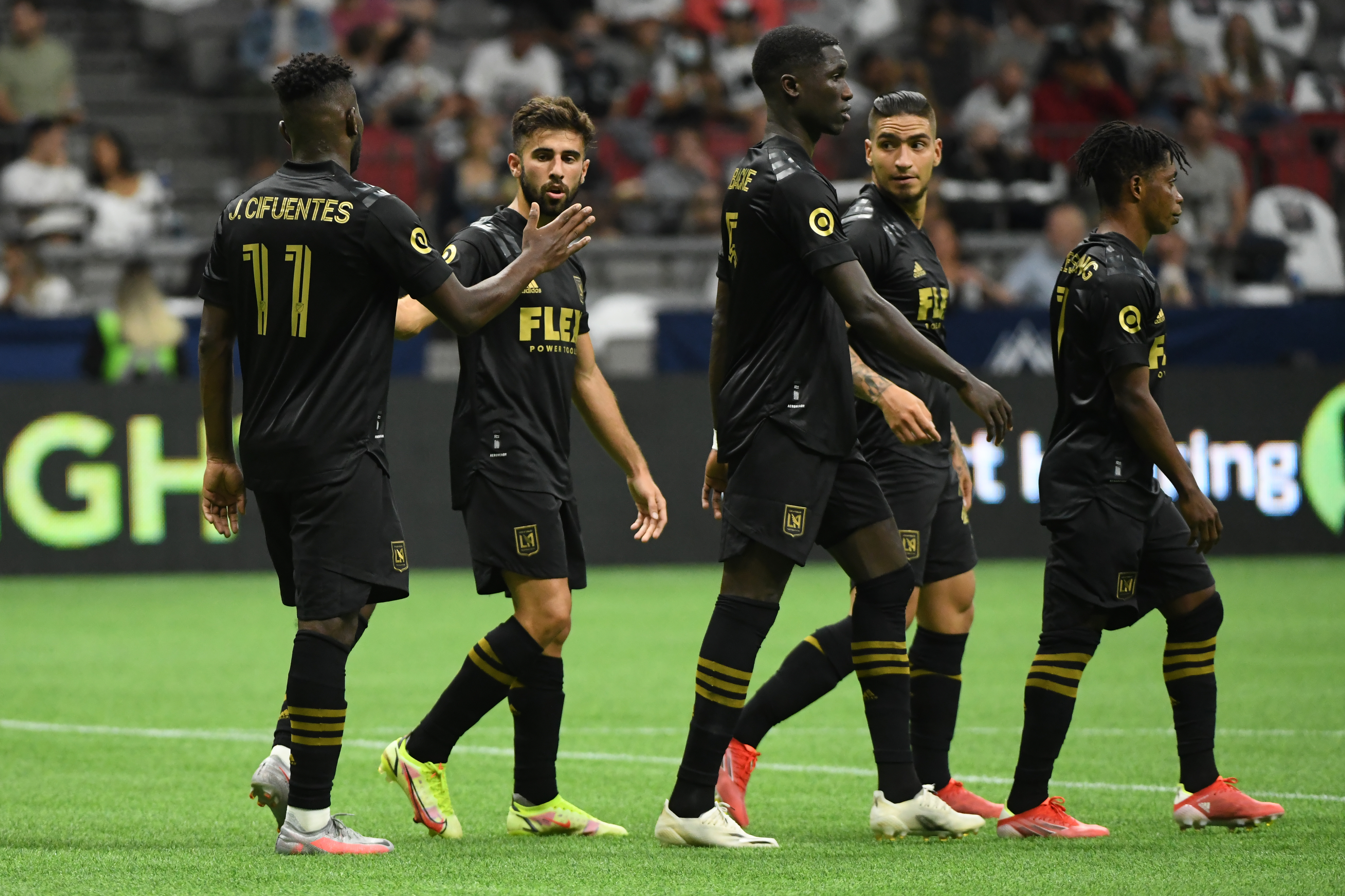 MLS: Los Angeles FC at Vancouver Whitecaps FC