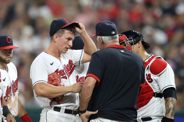 MLB: AUG 27 Red Sox at Indians