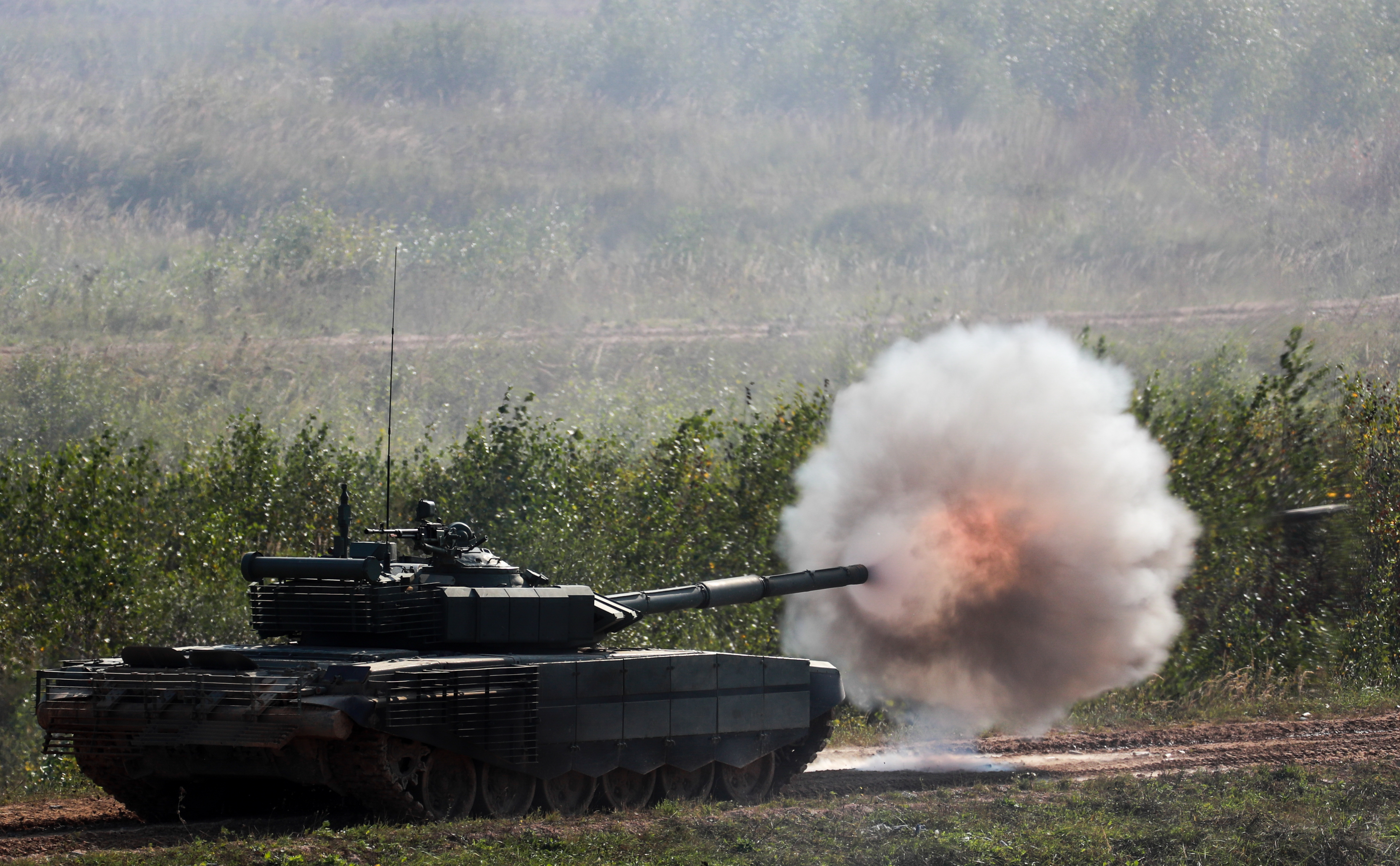 Military equipment put on display at 2021 International Army Games