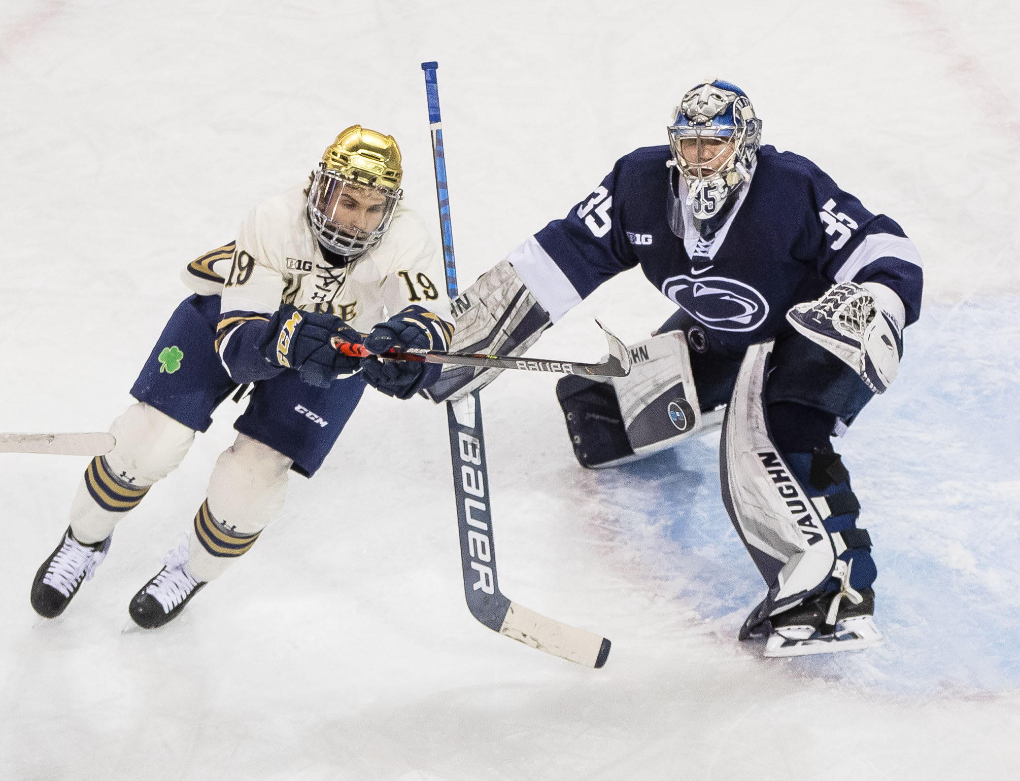 NCAA Hockey: Big Ten Hockey Tournament-Notre Dame vs Penn State
