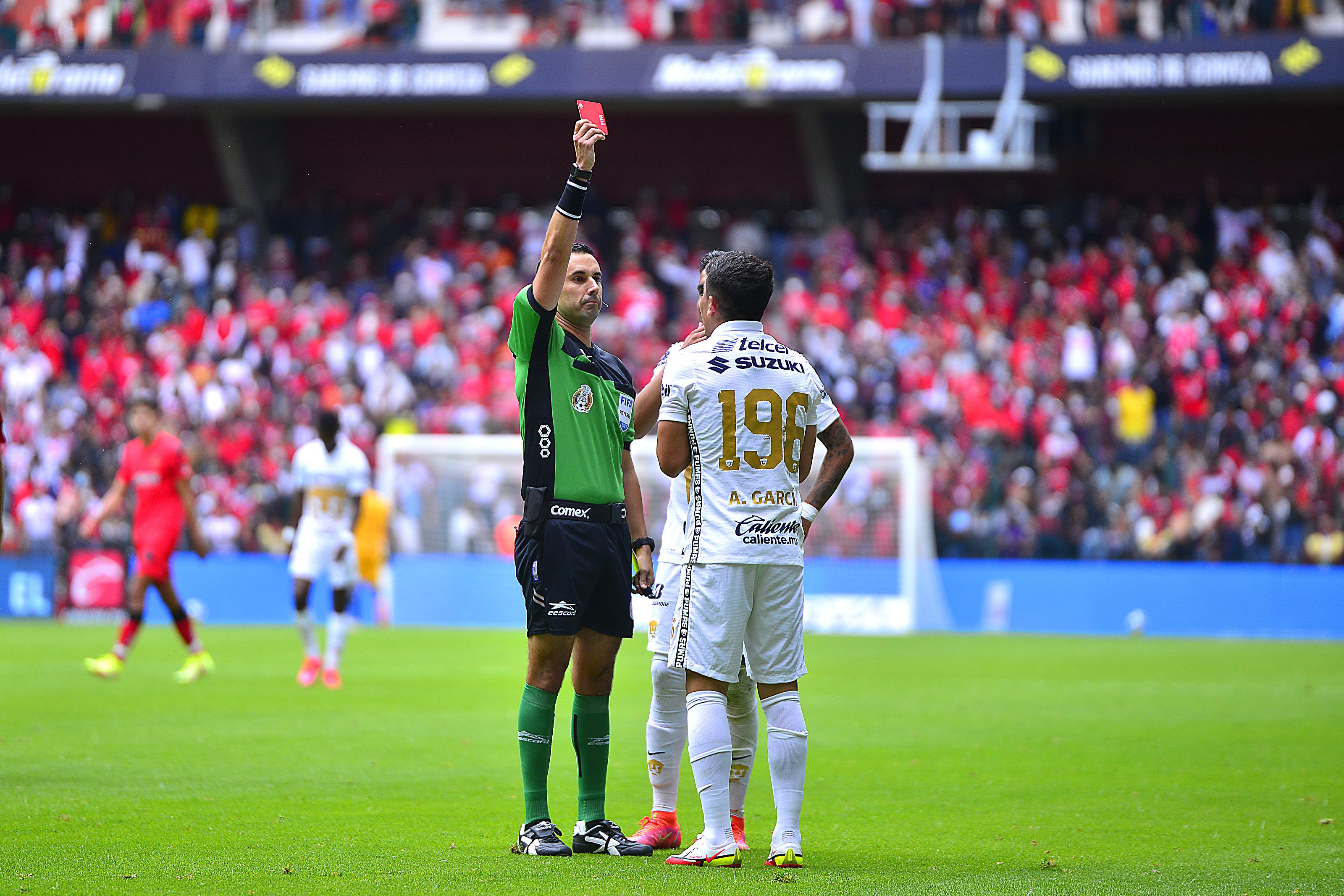 Toluca v Pumas UNAM - Torneo Apertura 2021 Liga MX