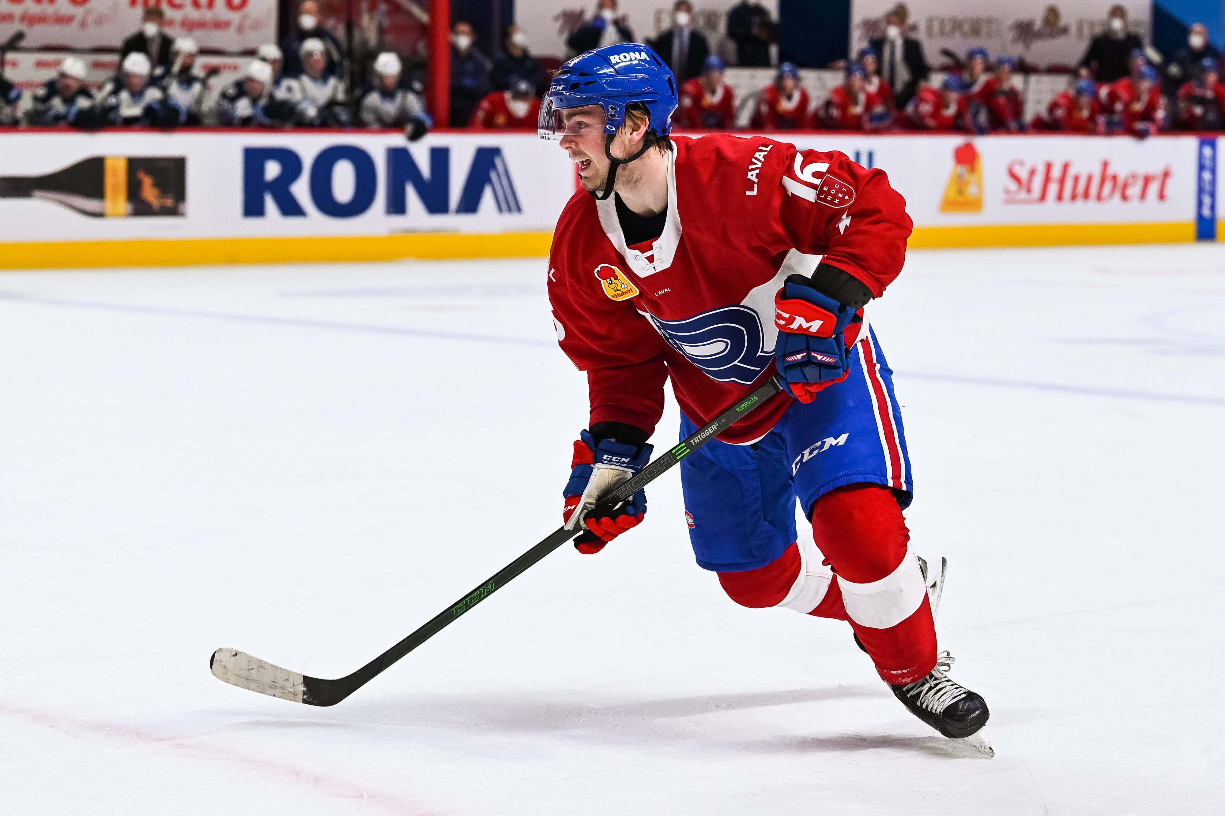AHL: FEB 22 Manitoba Moose at Laval Rocket