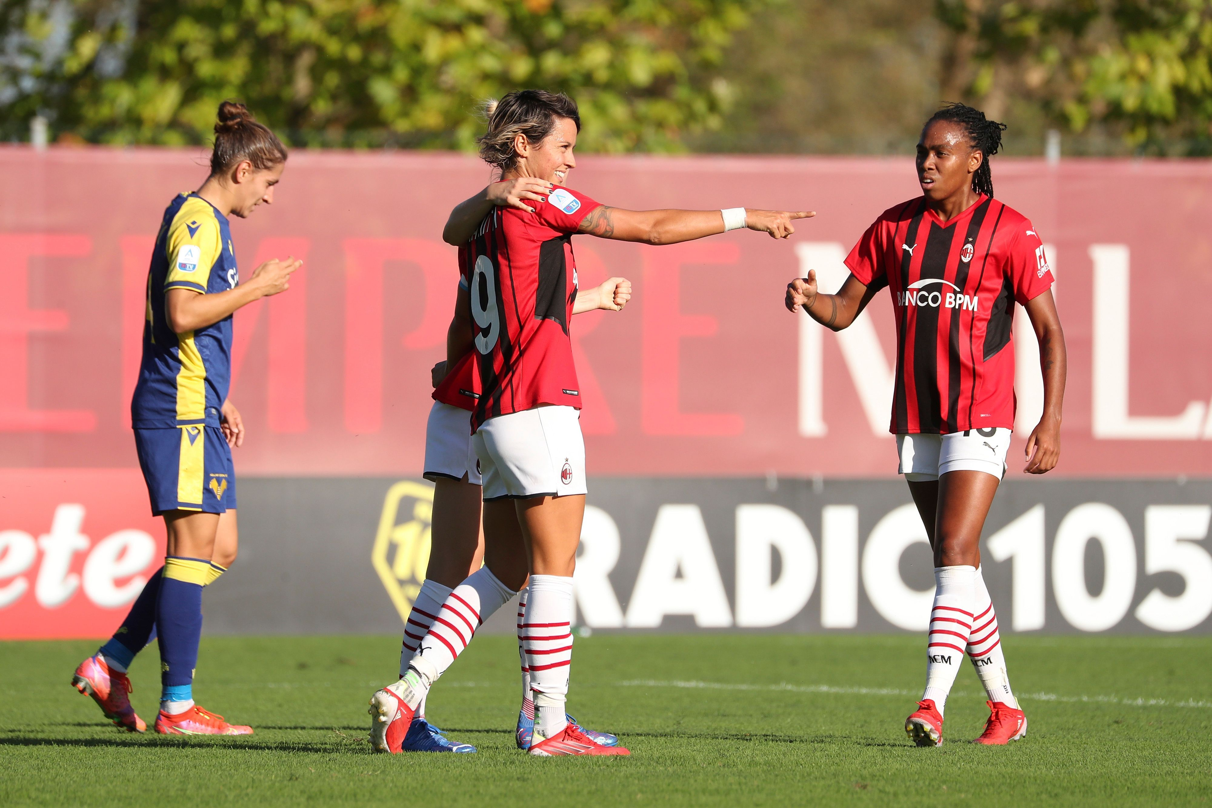 AC Milan v Hellas Verona - Women Serie A