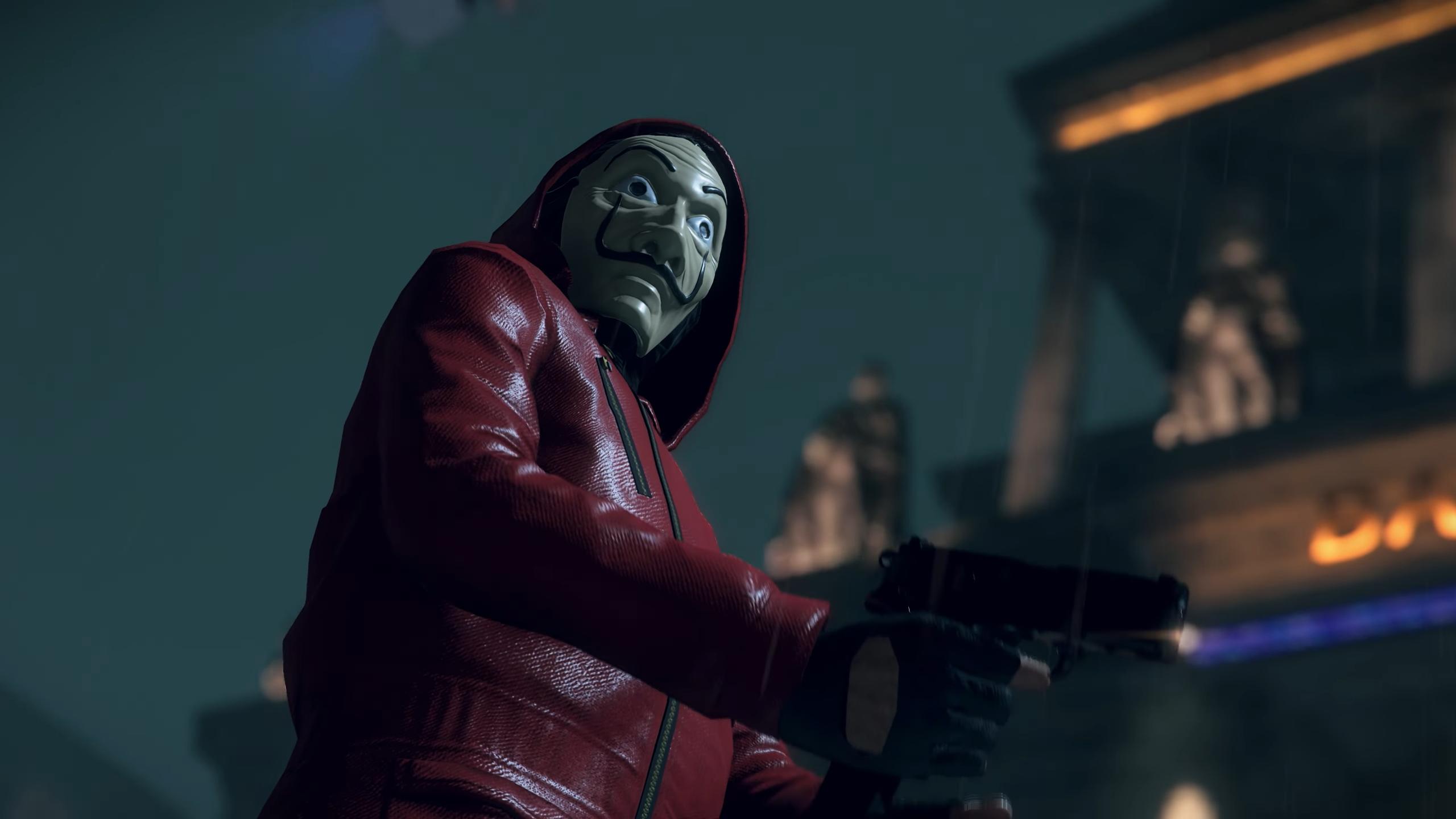 Watch Dogs: Legion Money Heist crossover mission