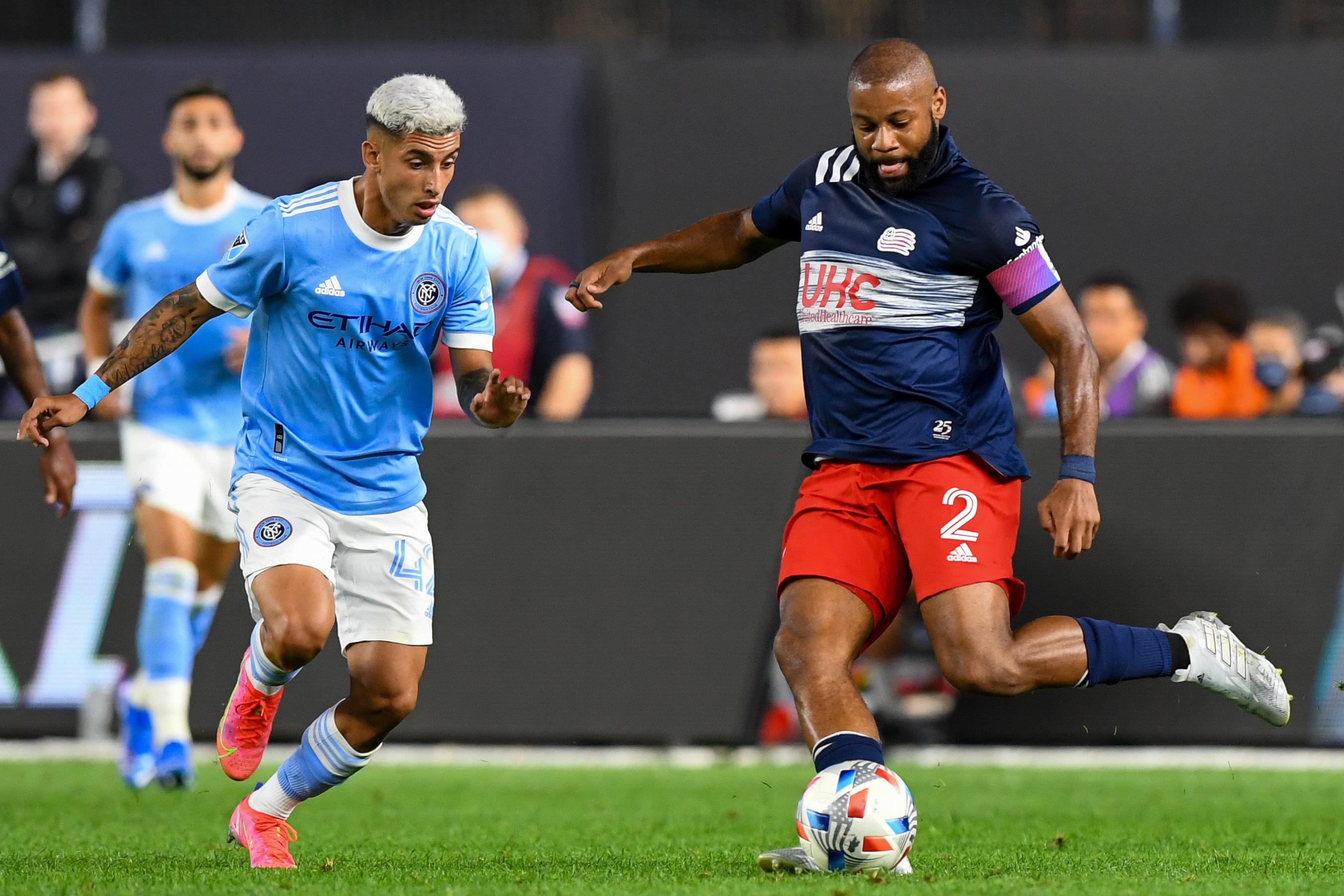 MLS: New England Revolution at New York City FC