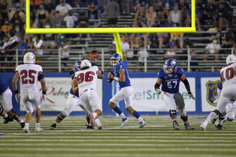 COLLEGE FOOTBALL: AUG 28 Southern Utah at San Jose State