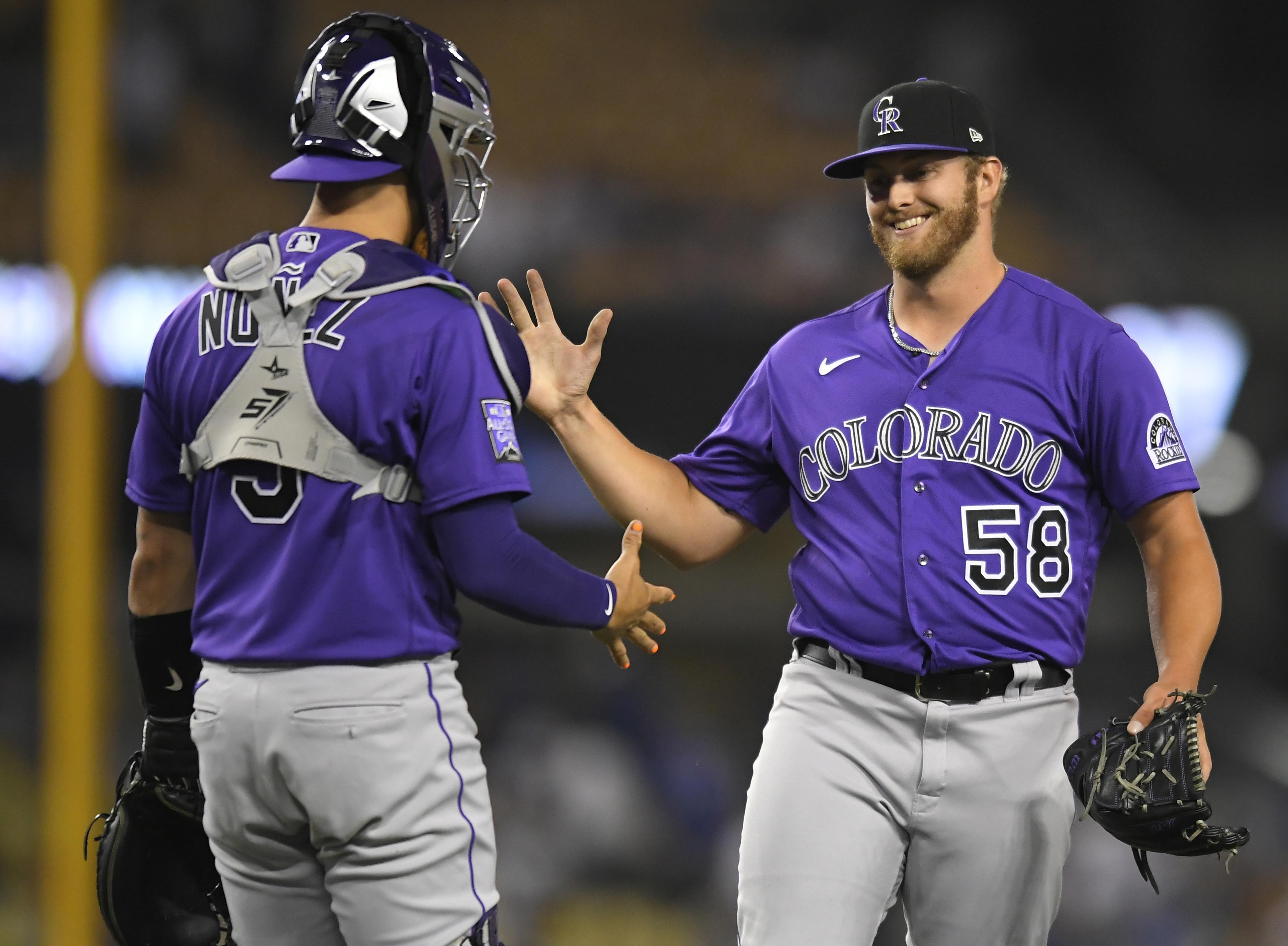 MLB: JUL 23 Rockies at Dodgers