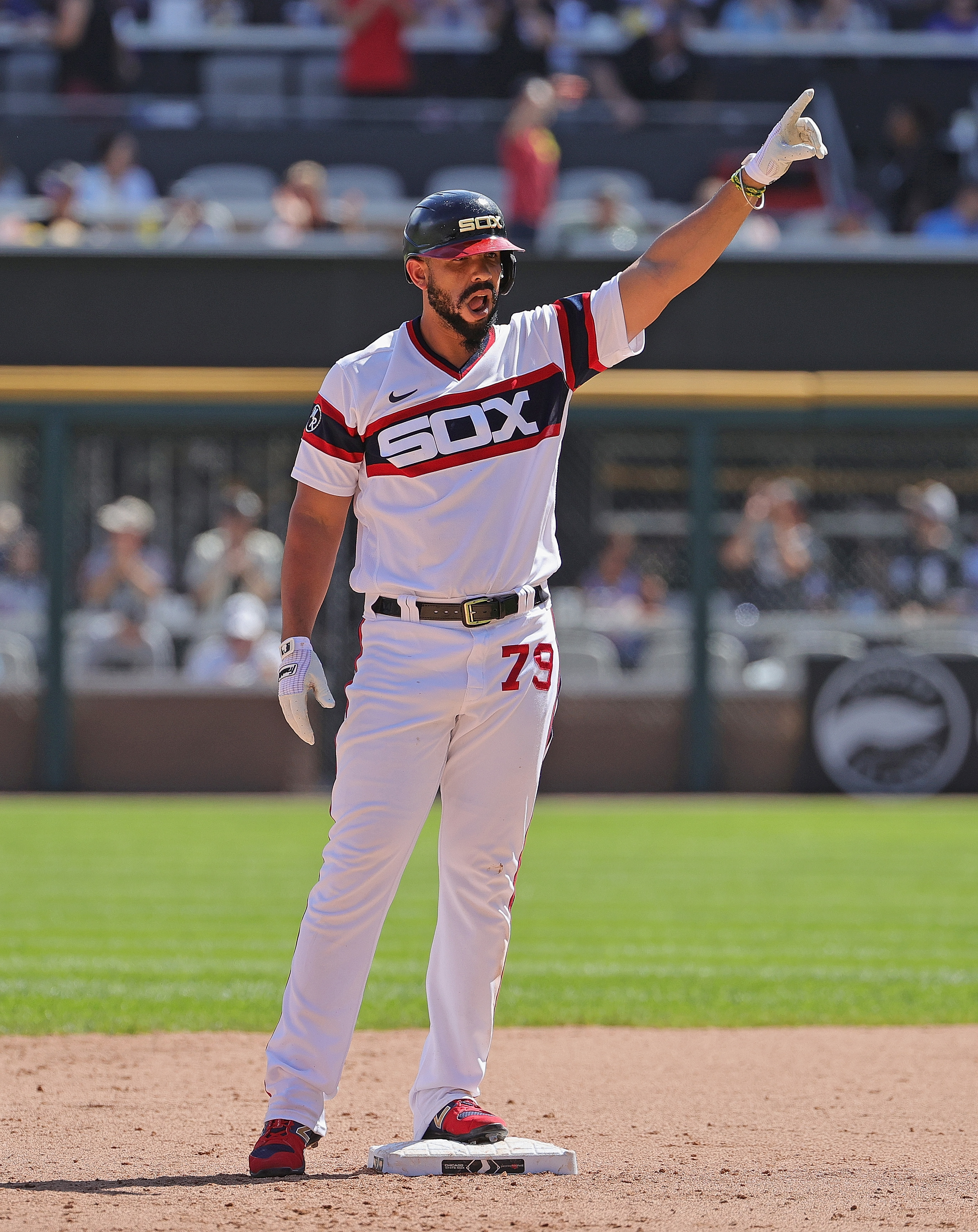 The White Sox' Jose Abreu has hit nine homers this month to go with a .324/.378/.639 hitting line, 1.017 OPS and 24 RBI.