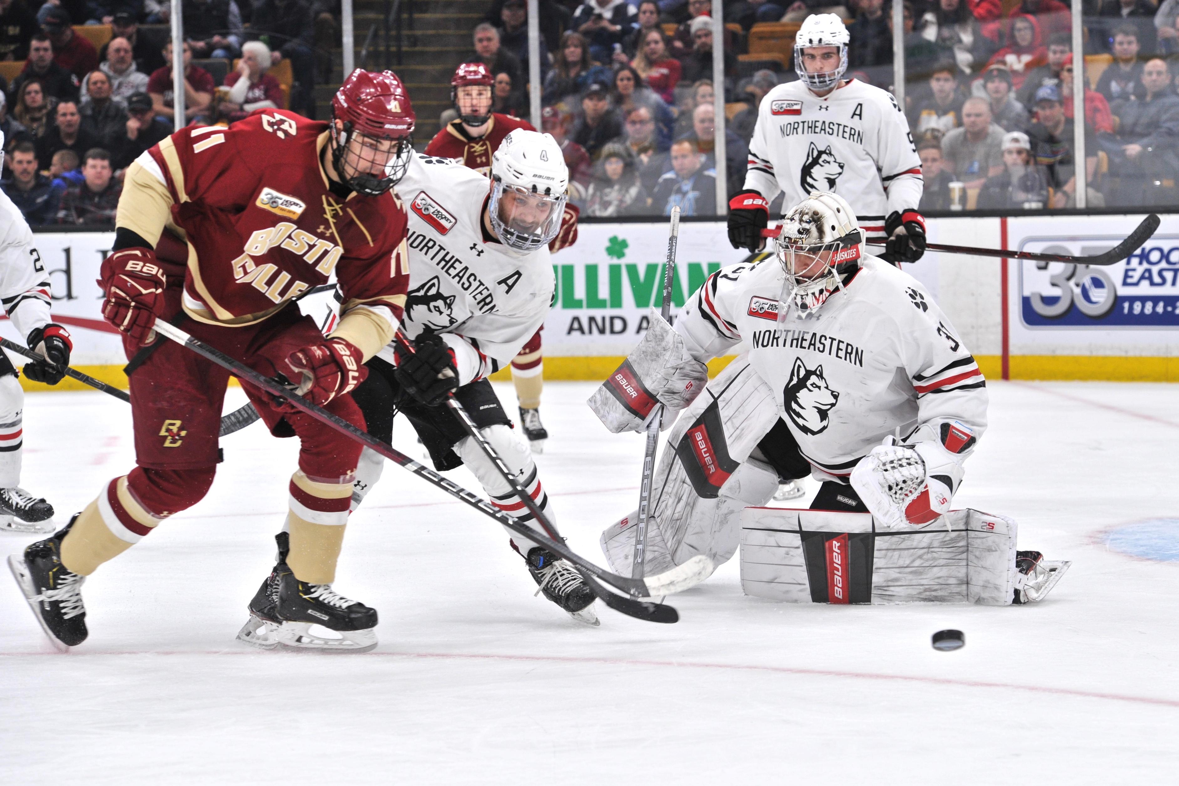 COLLEGE HOCKEY: MAR 23 Hockey East Championship - Boston College v Northeastern