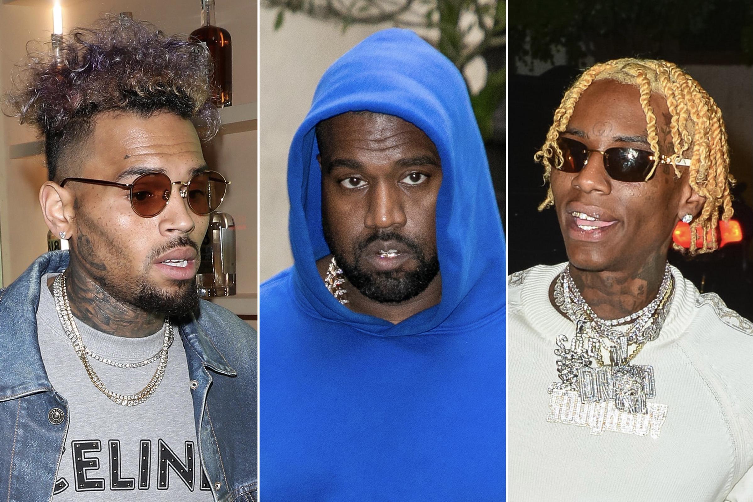 Chris Brown, Kanye West, Soulja Boy
