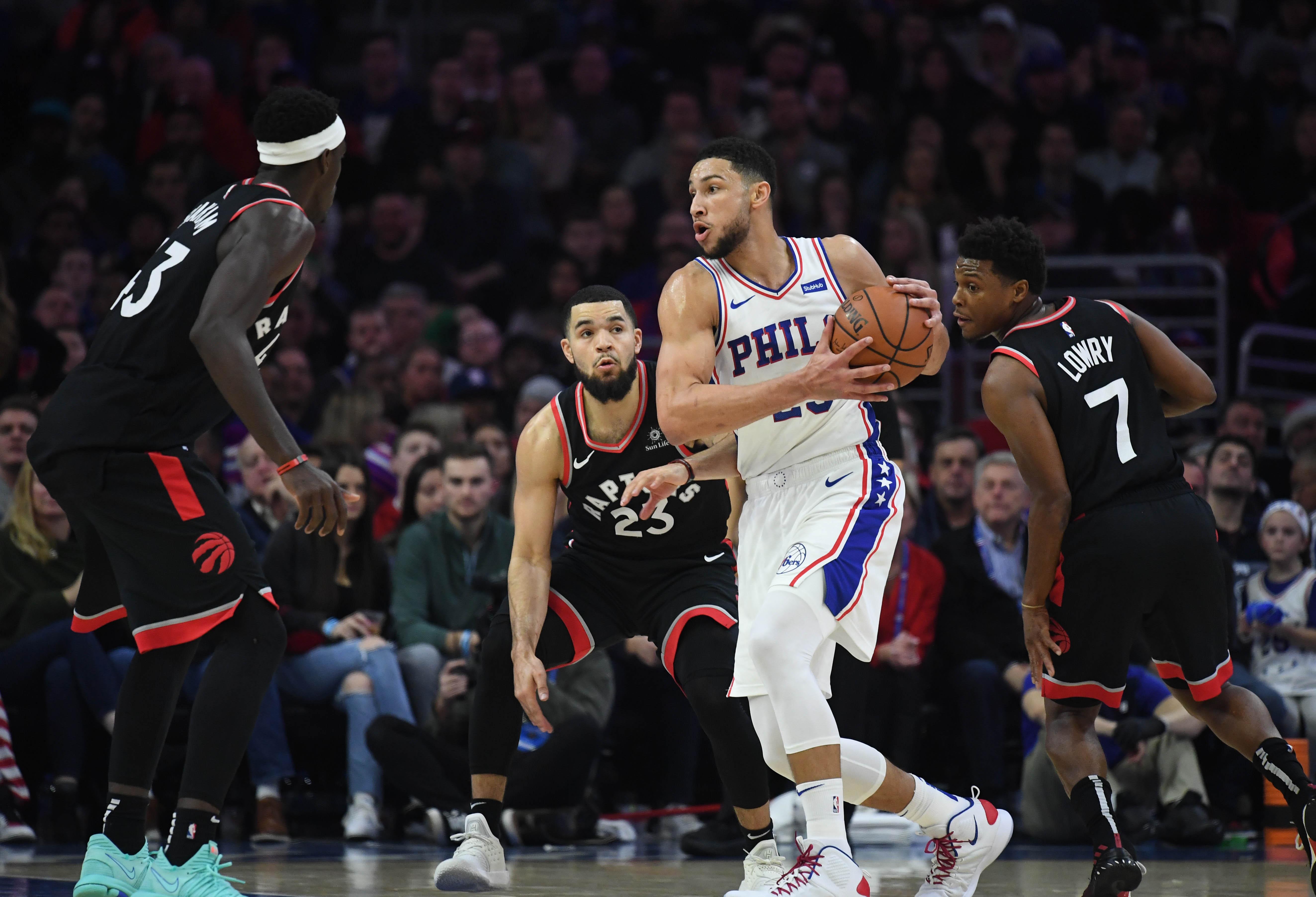 Five Thoughts recap: Philadelphia 76ers 126, Toronto Raptors 101, Ben Simmons, Fred VanVleet