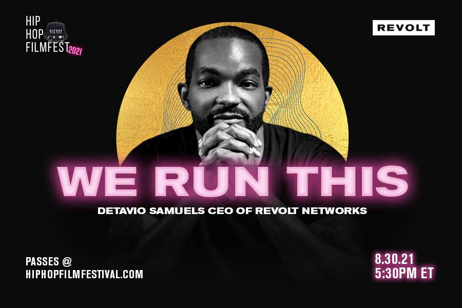 Detavio Samuels - Hip Hop Film Festival