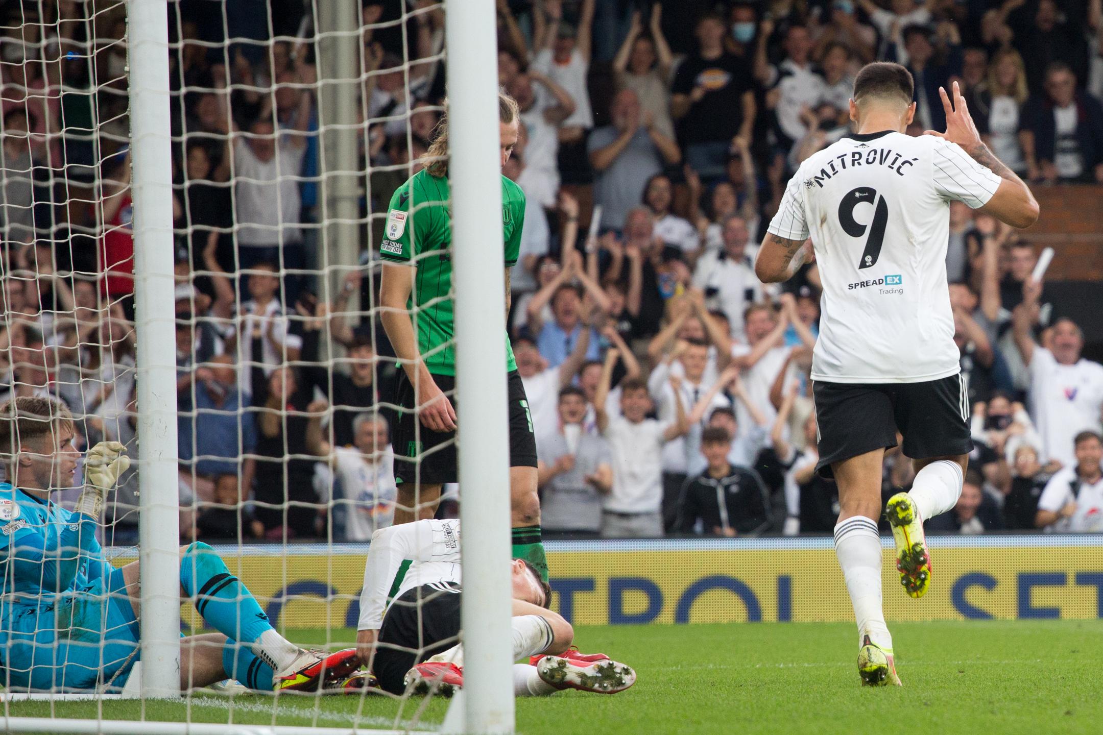 Fulham v Stoke City - Sky Bet Championship