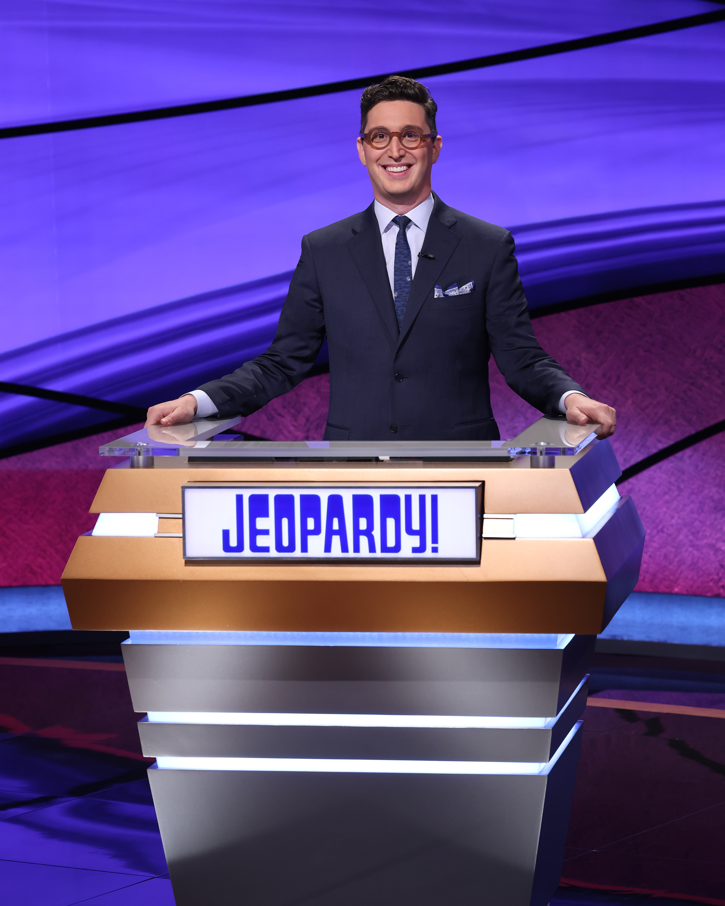"""Buzzy Cohen hosted the 2021 """"Jeopardy! Tournament of Champions."""""""