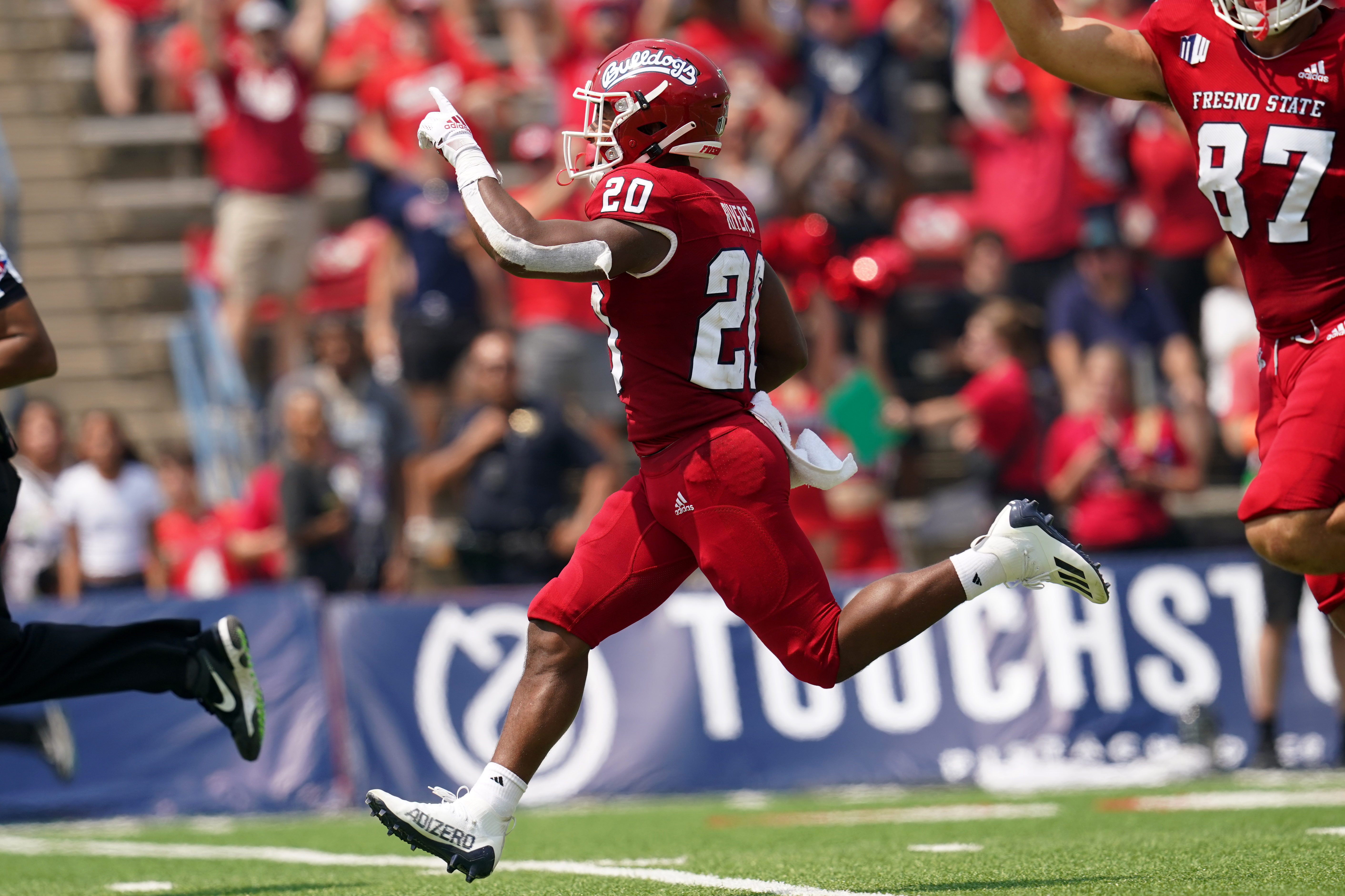 NCAA Football: Connecticut at Fresno State