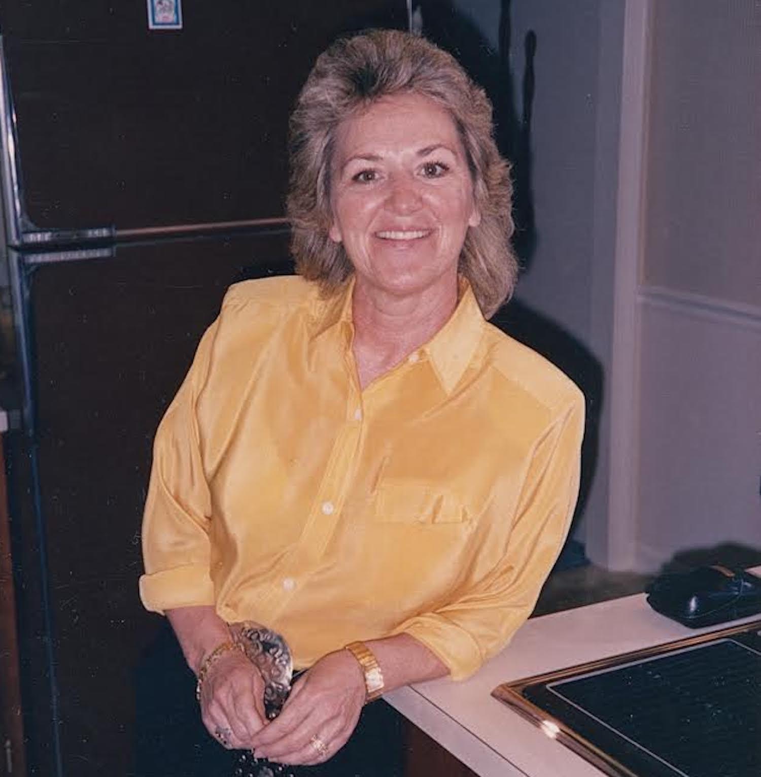 Singer Ruth Marx.