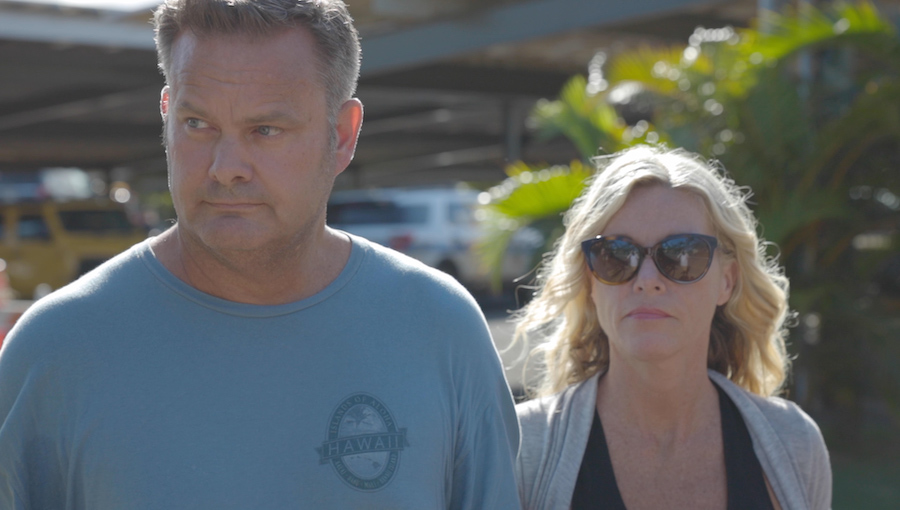 Chad Daybell and Lori Vallow Daybell are seen in Hawaii.