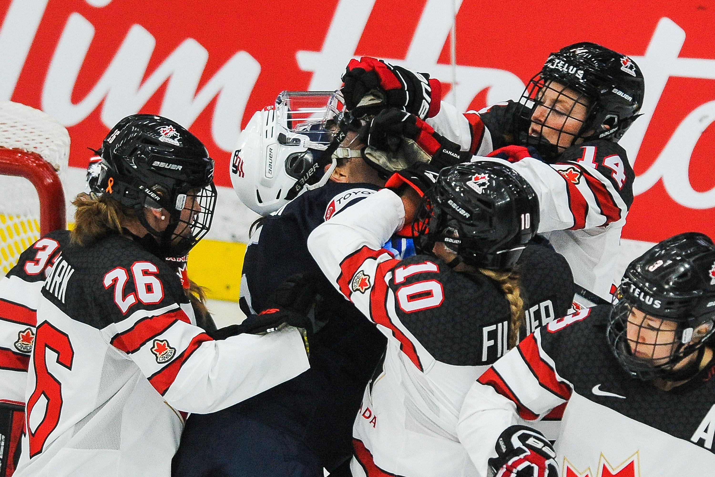 United States v Canada: Group A - 2021 IIHF Women's World Championship
