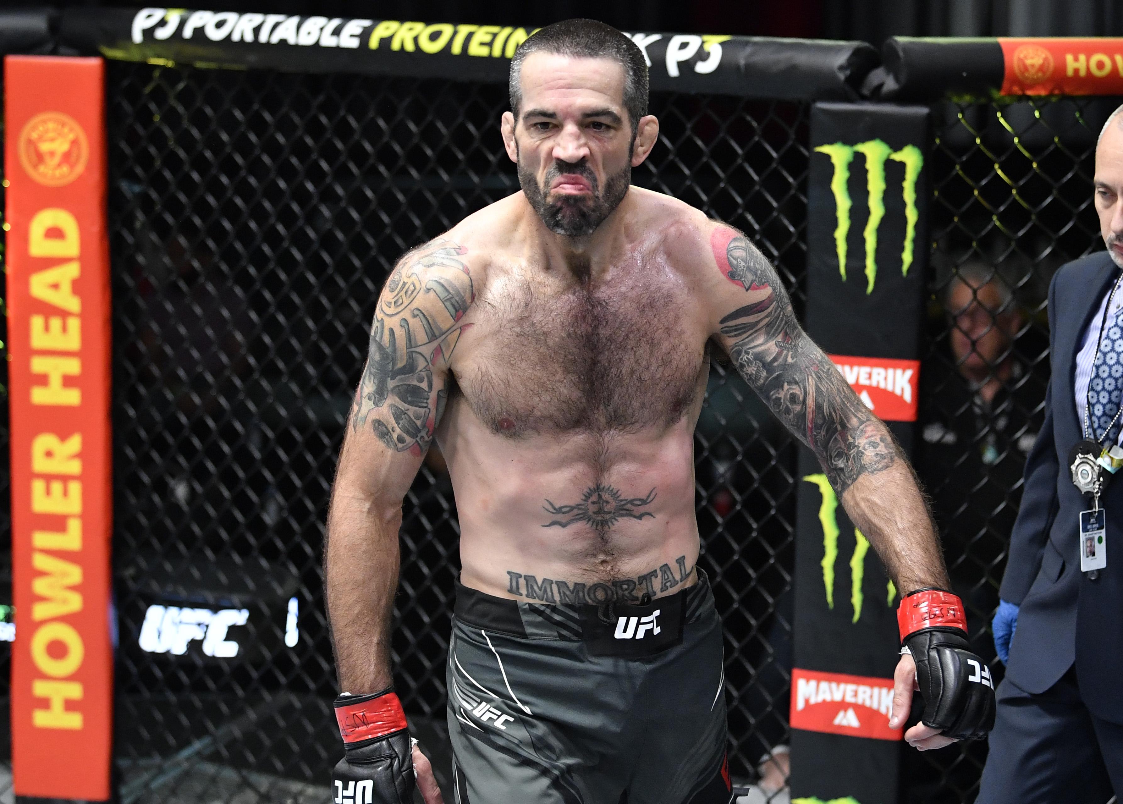 UFC打击之夜:棕色v lima