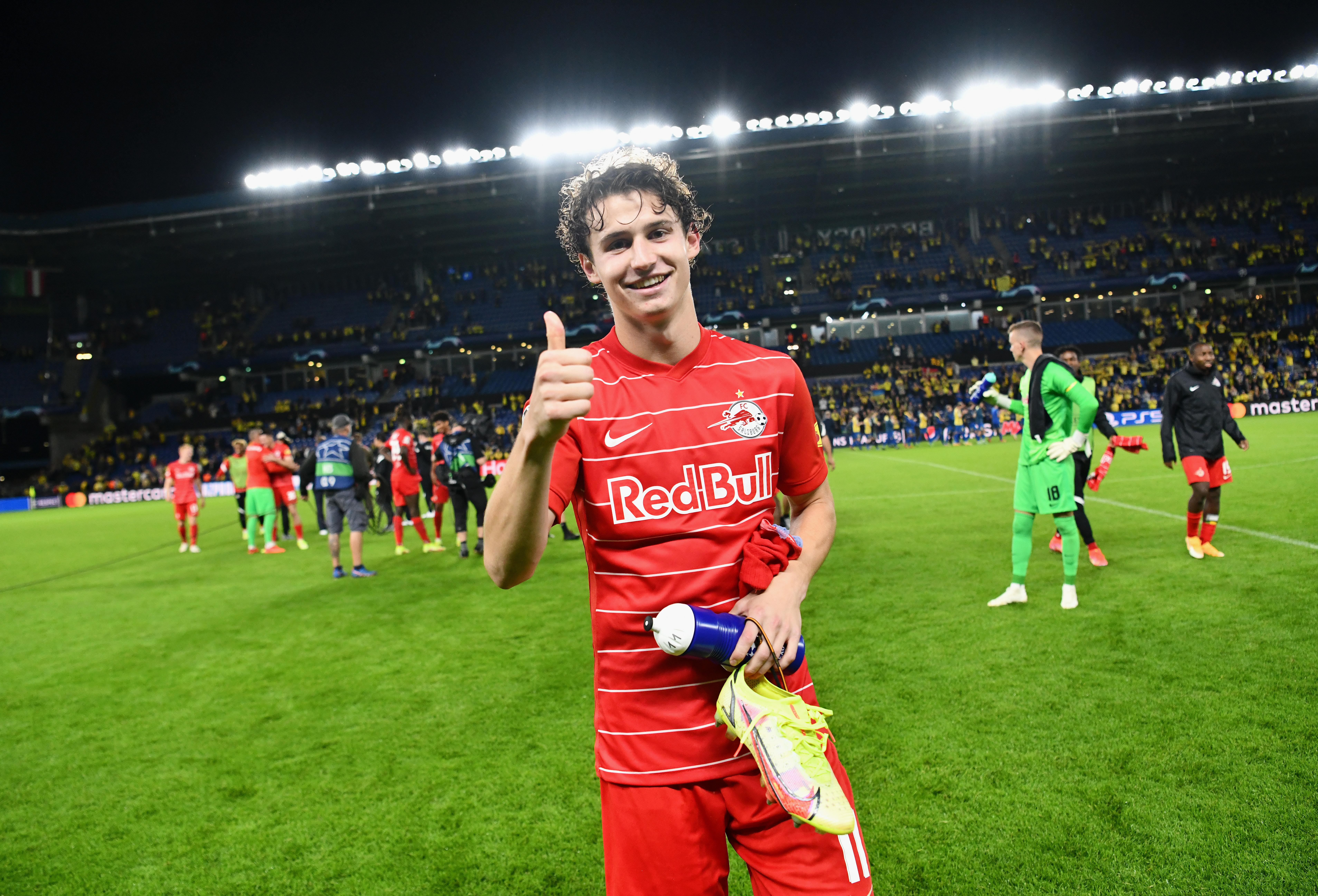 Brondby IF v FC Red Bull Salzburg - UEFA Champions League: Play-Offs Leg Two