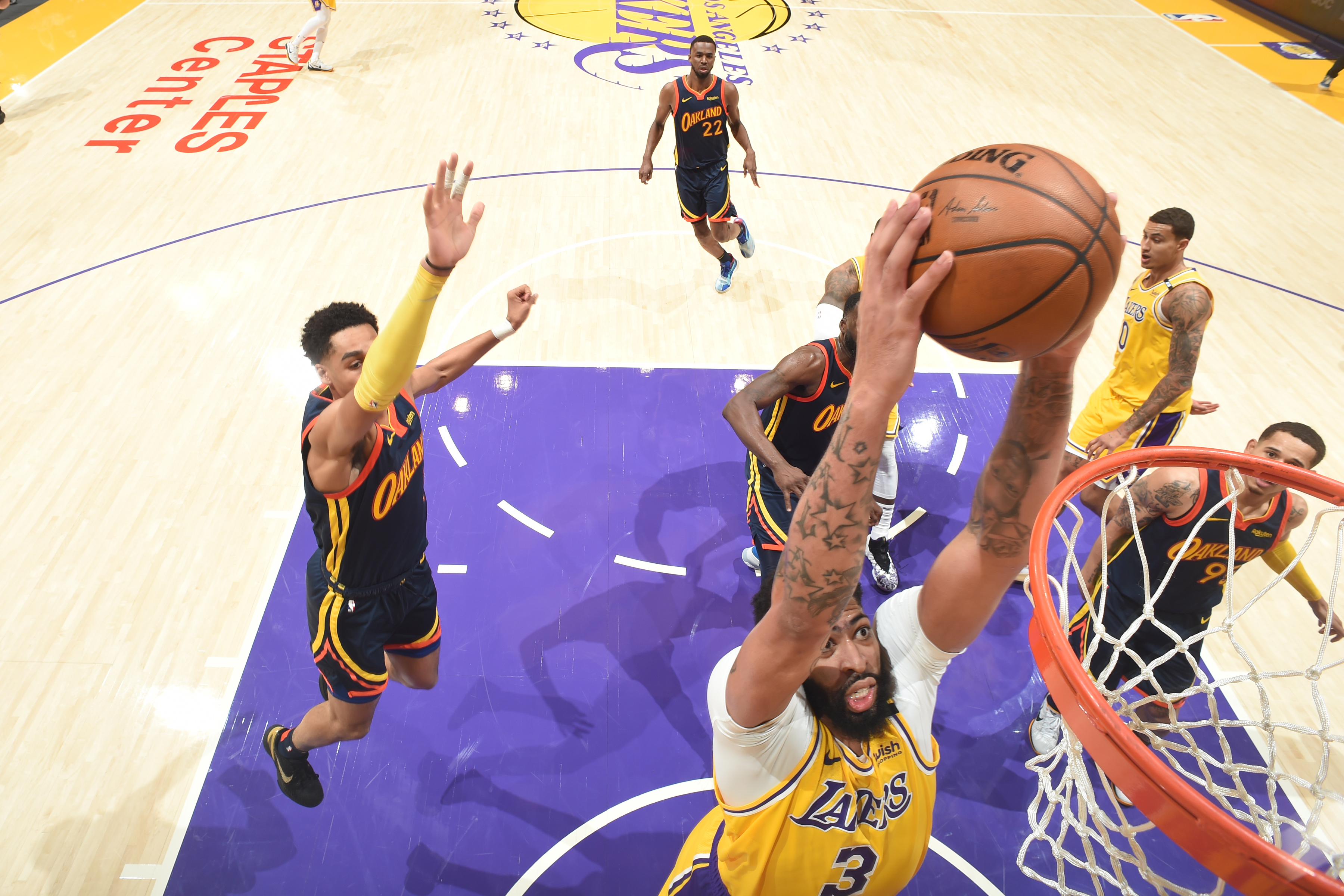 2021 Play-In Tournament - Golden State Warriors v Los Angeles Lakers