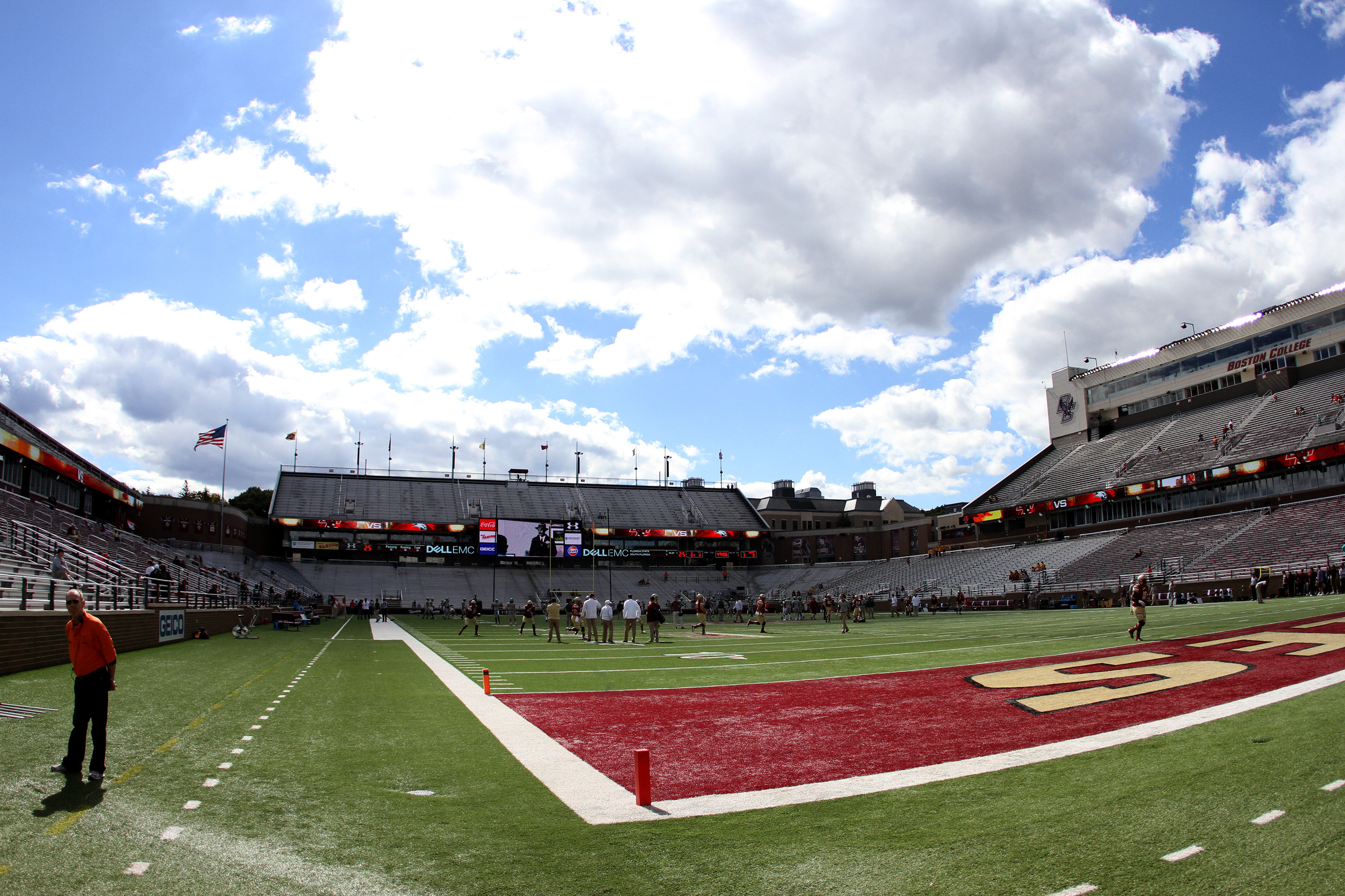 NCAA FOOTBALL: SEP 24 Wagner at Boston College