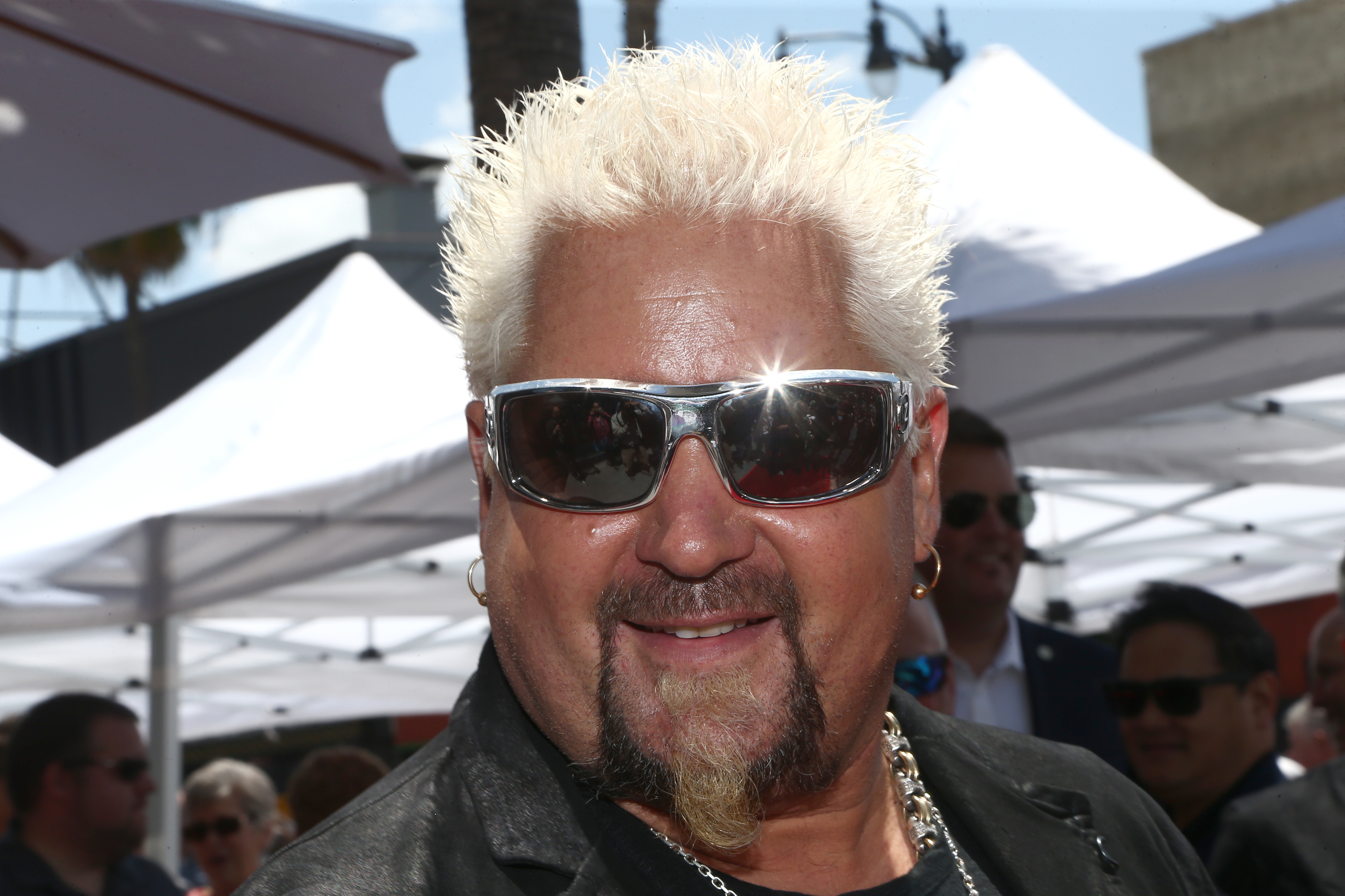 Guy Fieri Honored With Star On Hollywood Walk Of Fame...