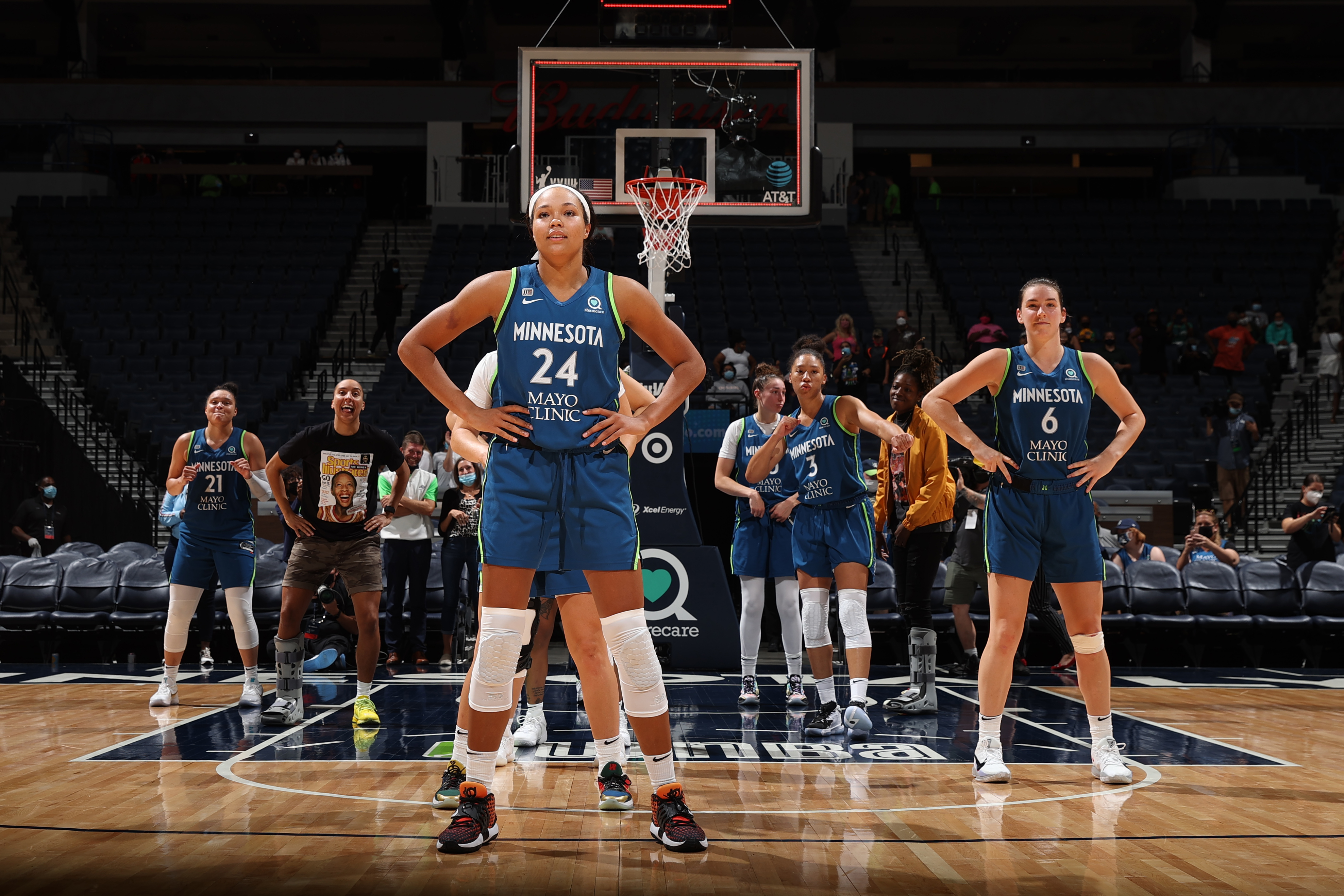 New York Liberty v Minnesota Lynx