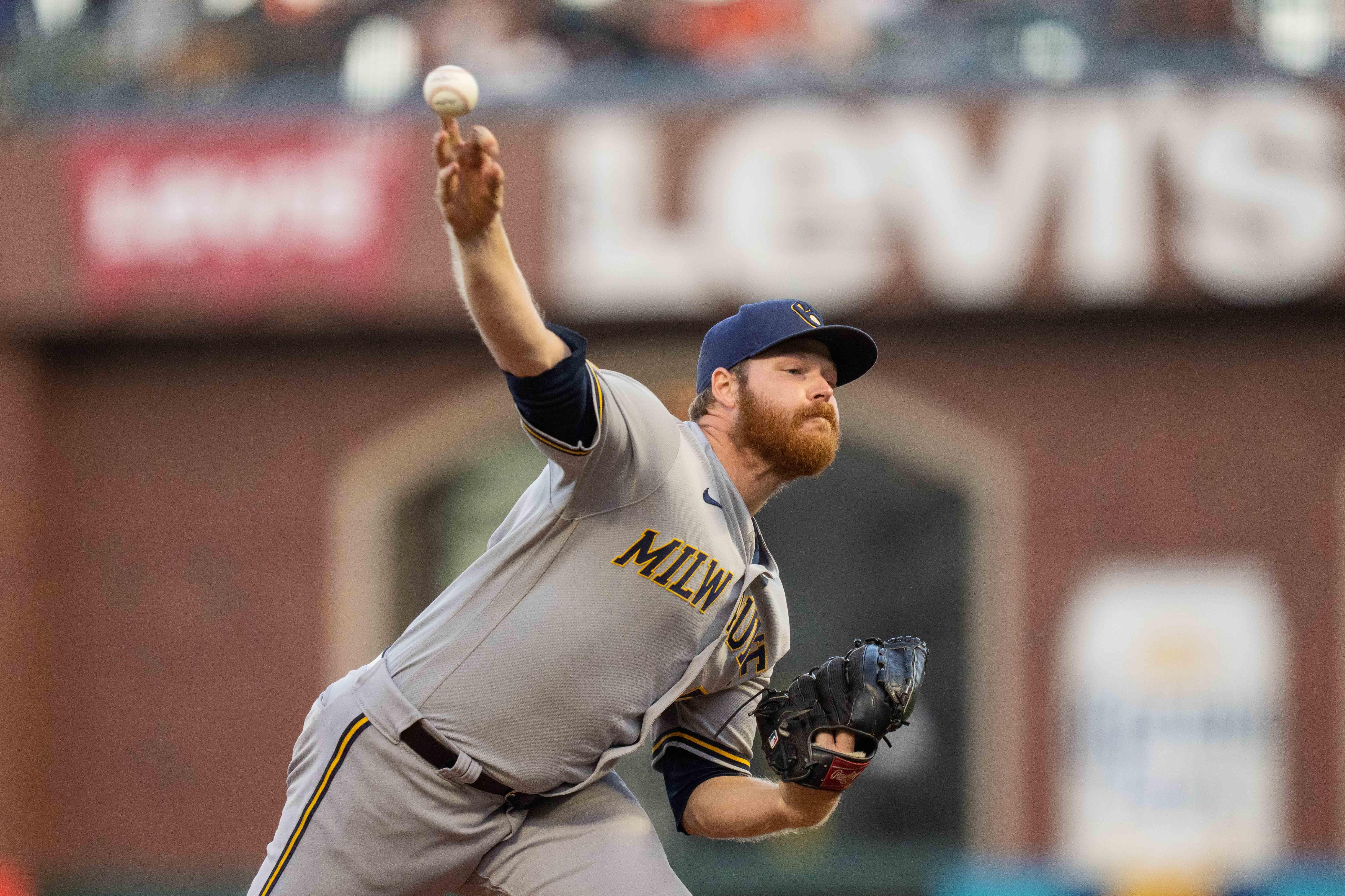 MLB: Milwaukee Brewers at San Francisco Giants