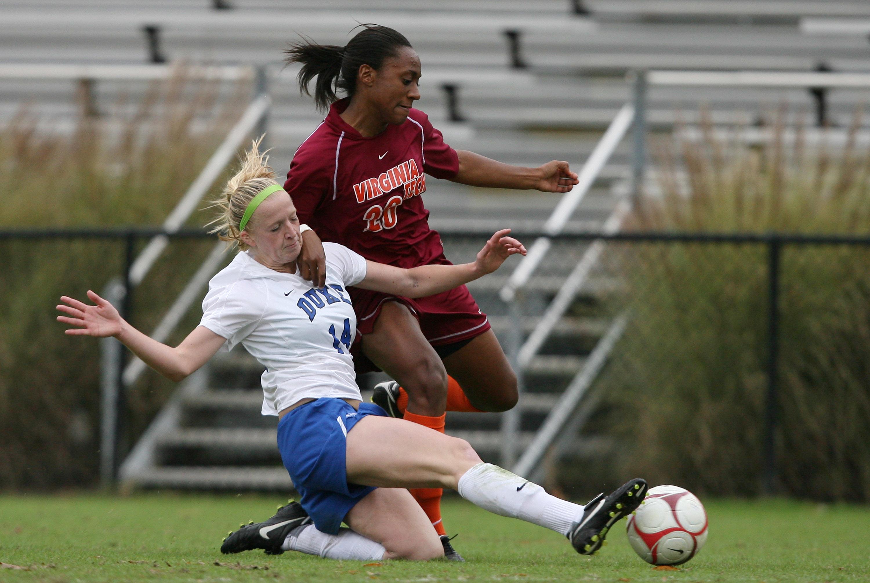NCAA SOCCER: OCT 25 Virginia Tech at Duke