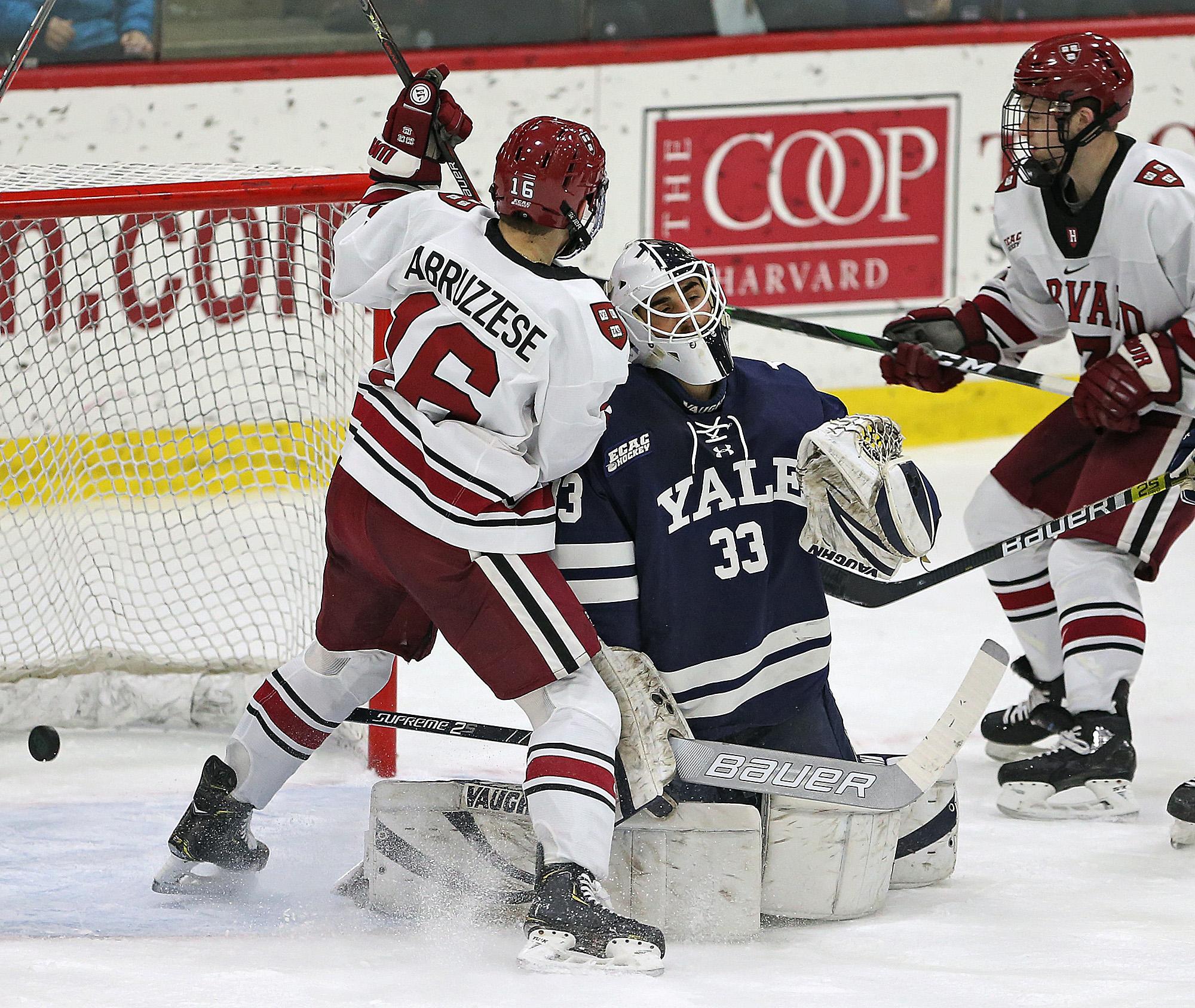 Harvard vs Yale Men's Hockey
