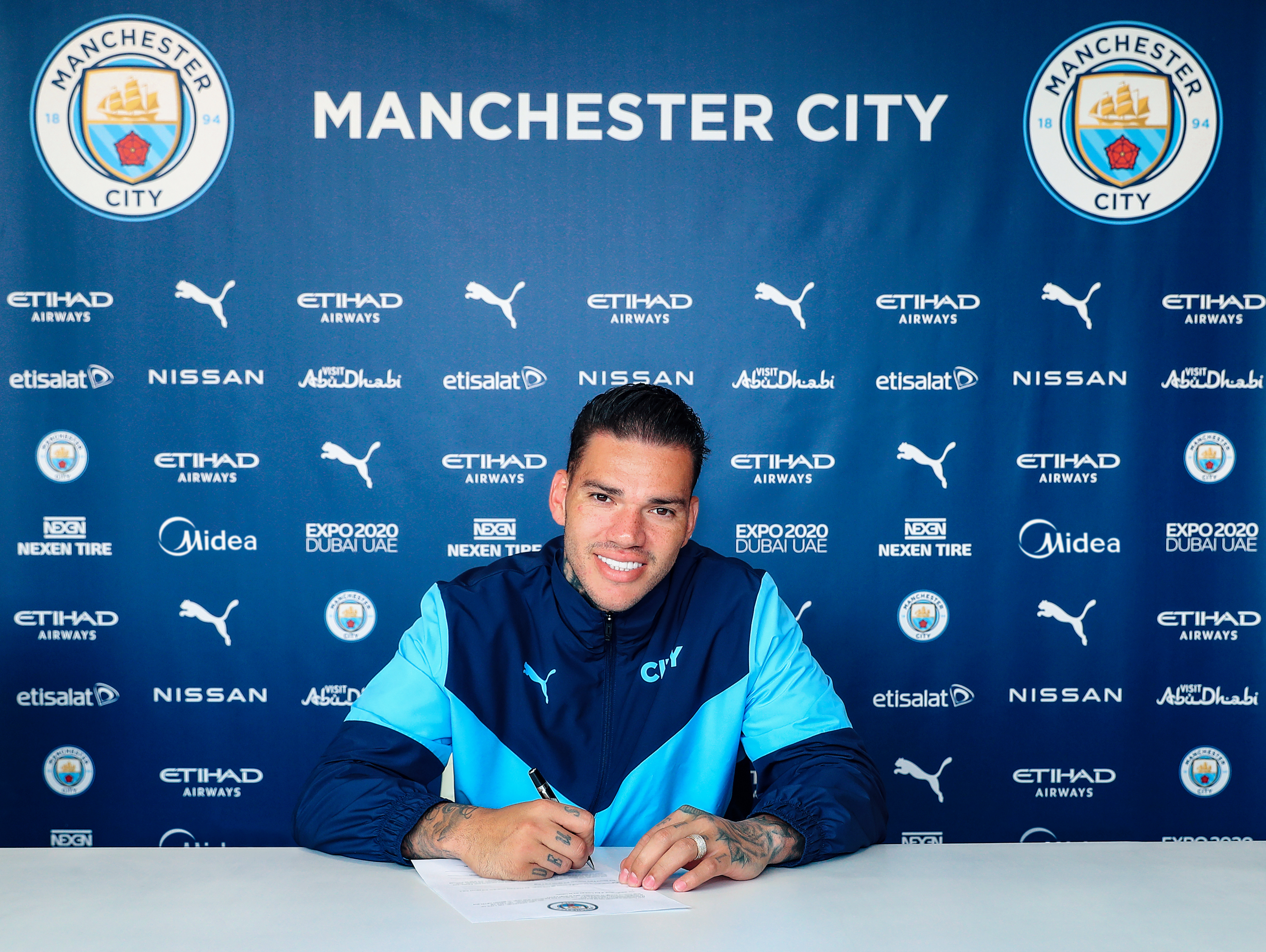 Ederson Extends His Contract With Manchester City
