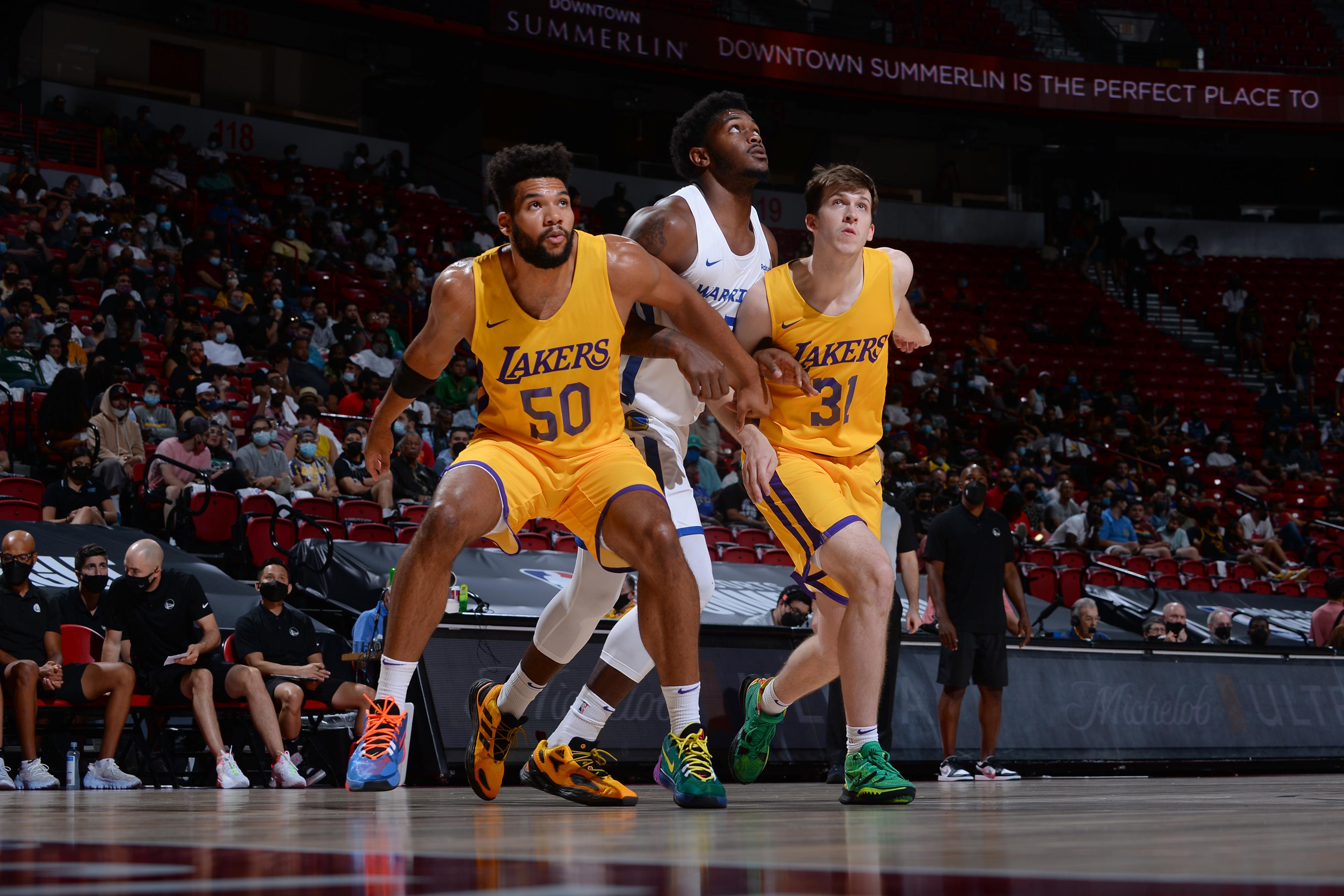 2021 Las Vegas Summer League - Los Angeles Lakers v Golden State Warriors