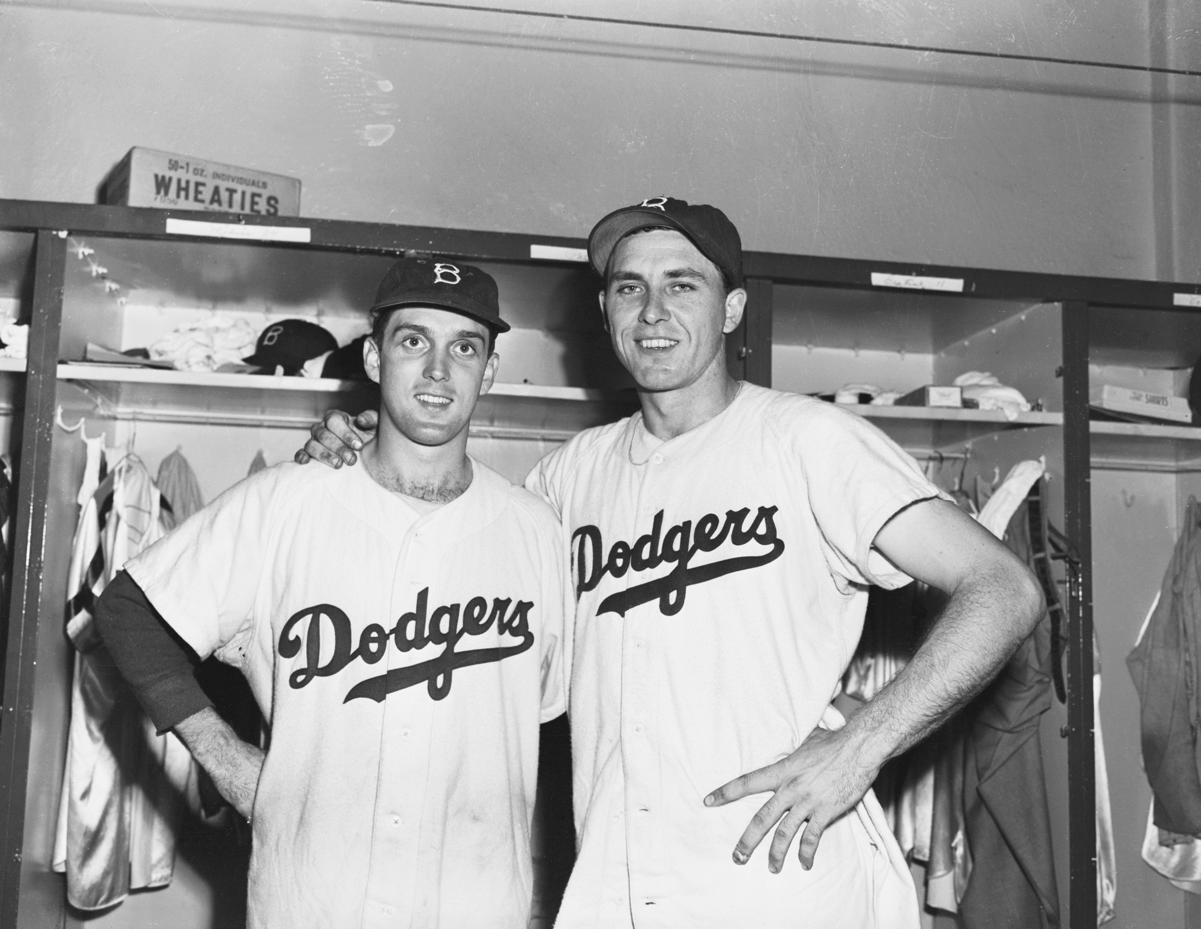 Gil Hodges and Carl Erskine