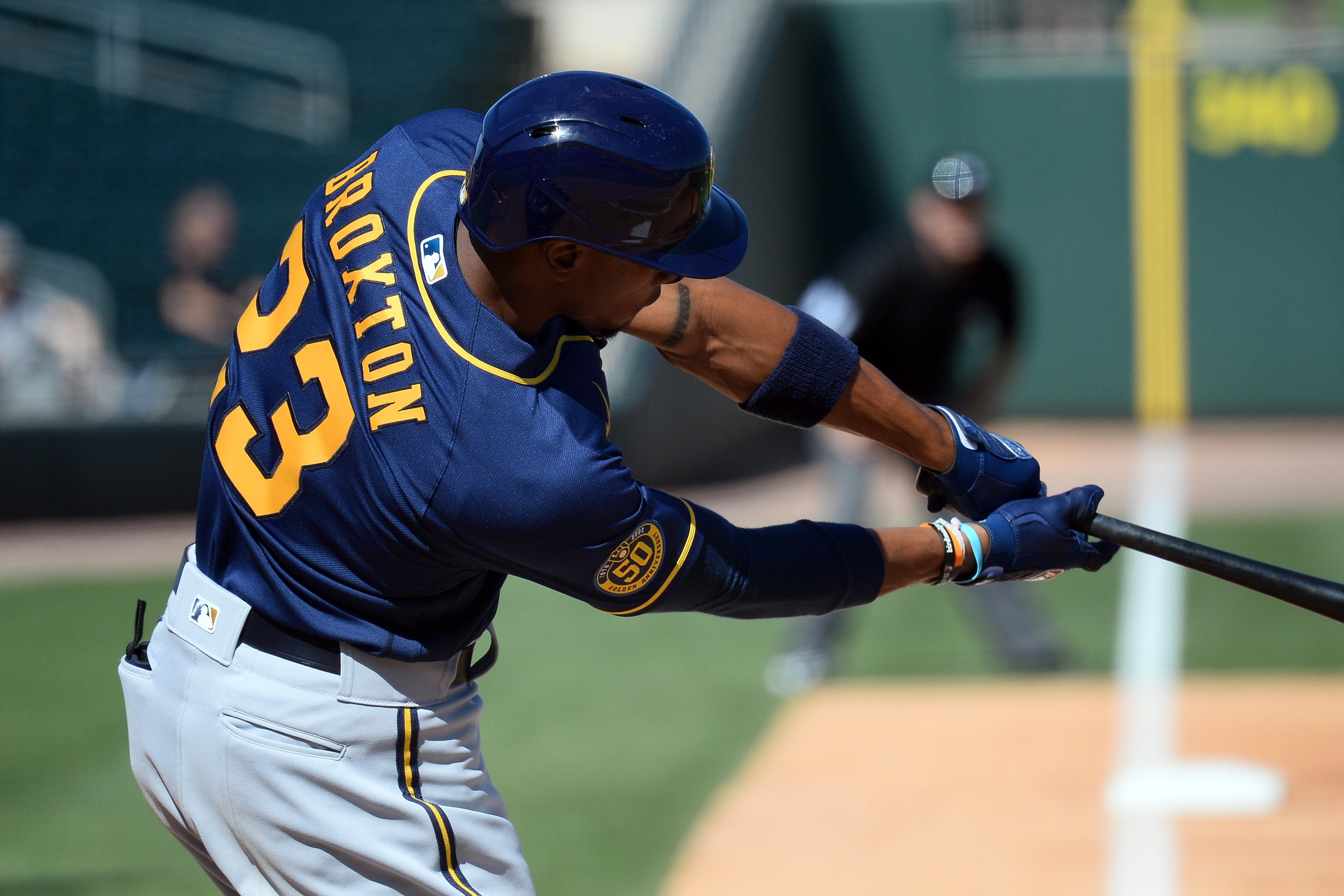 MLB: Spring Training-Milwaukee Brewers at Oakland Athletics