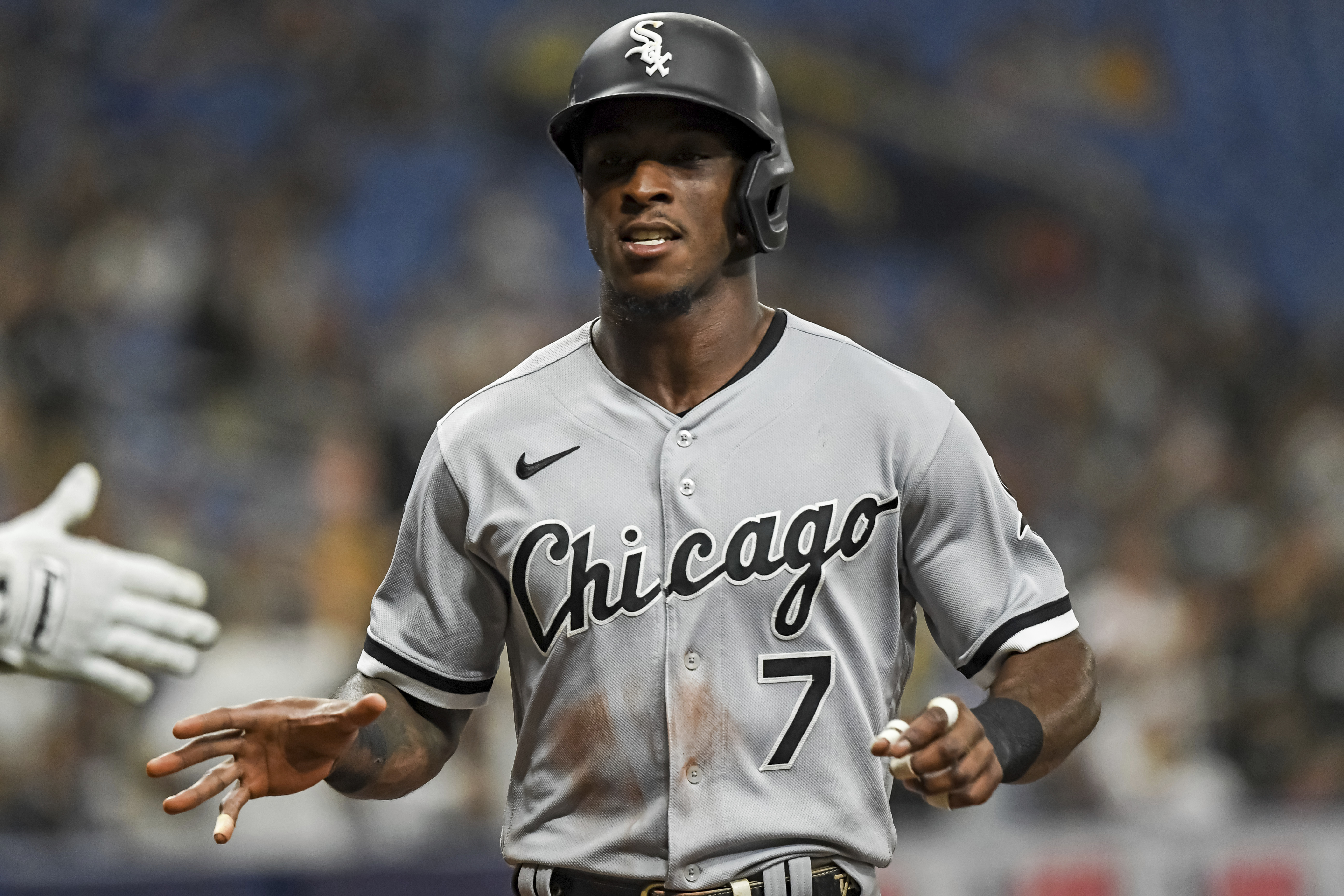 The White Sox placed shortstop Tim Anderson on the 10-day injured list.