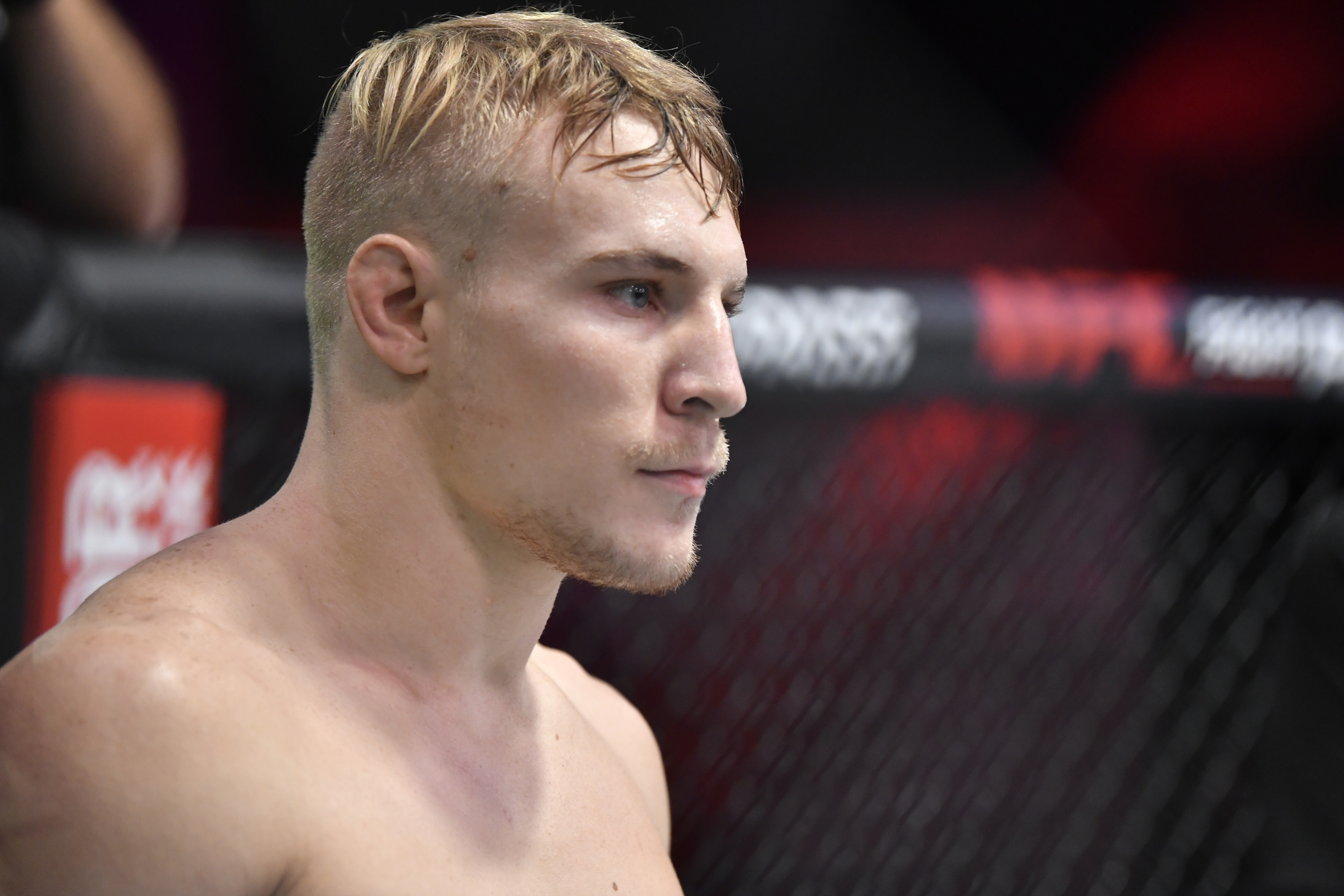A.J. Fletcher earned a UFC contract with a flying knee knockout on Tuesday.