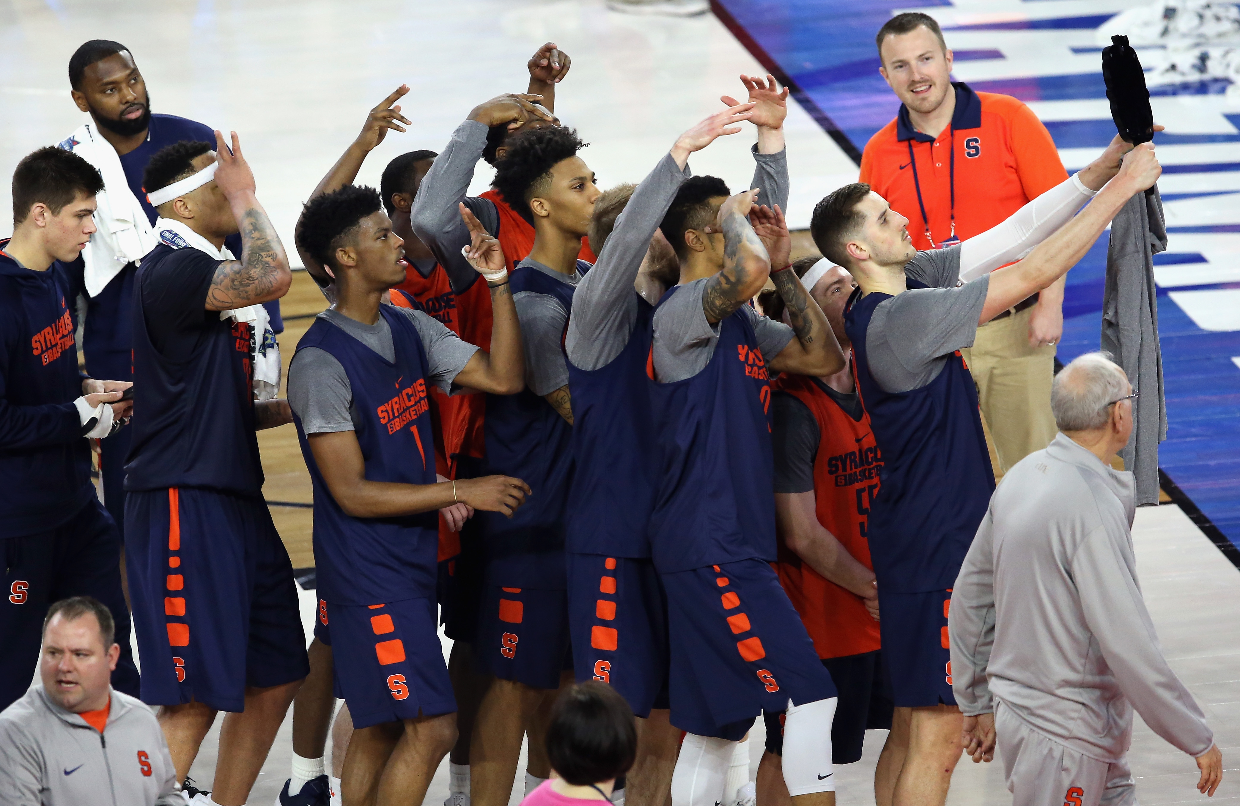 NCAA Men's Final Four - Practice