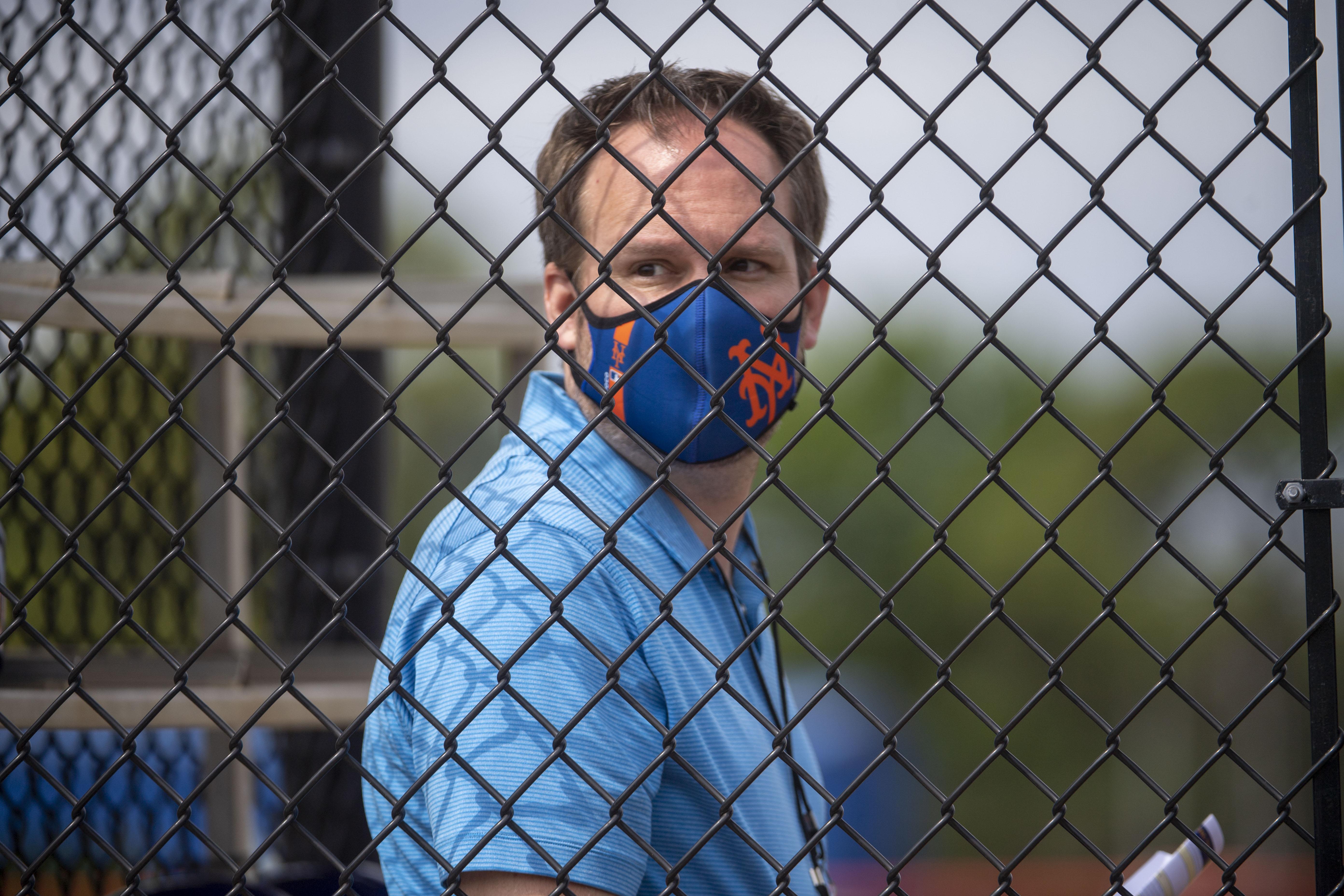 New York Mets Manager Zack Scott During Spring Training