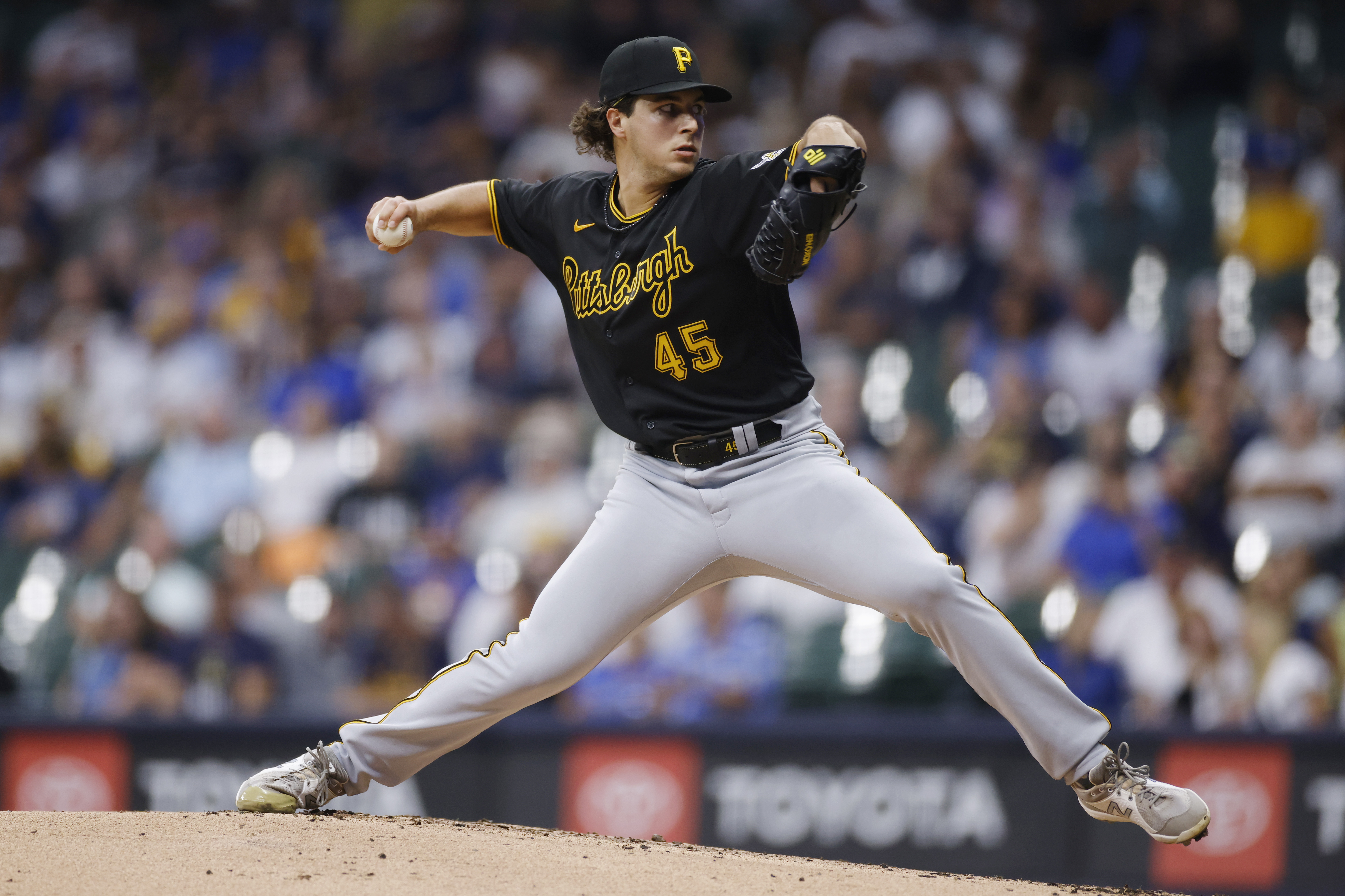 MLB: AUG 03 Pirates at Brewers