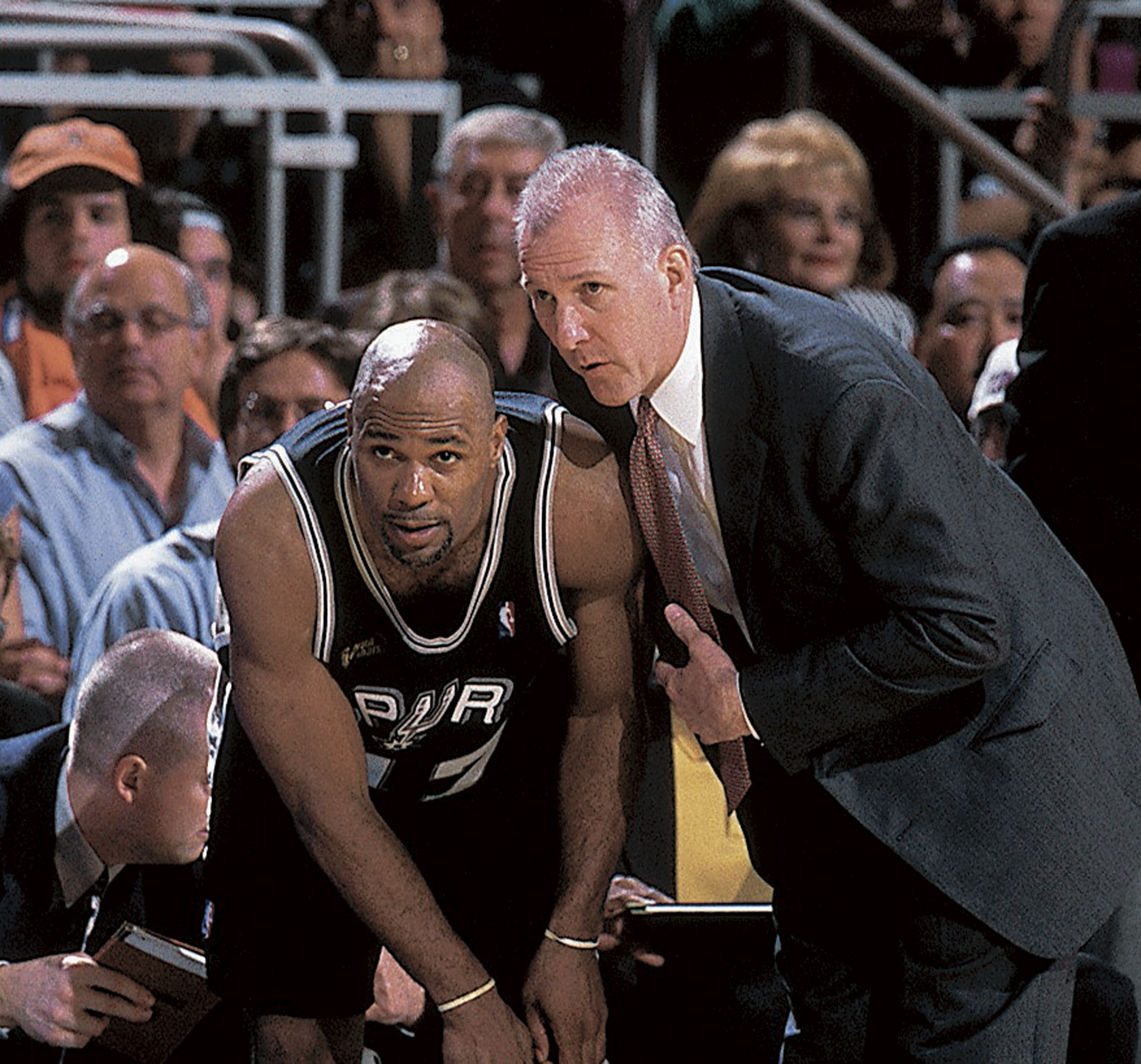 San Antonio Spurs Coach Gregg Popovich, 1999 NBA Finals