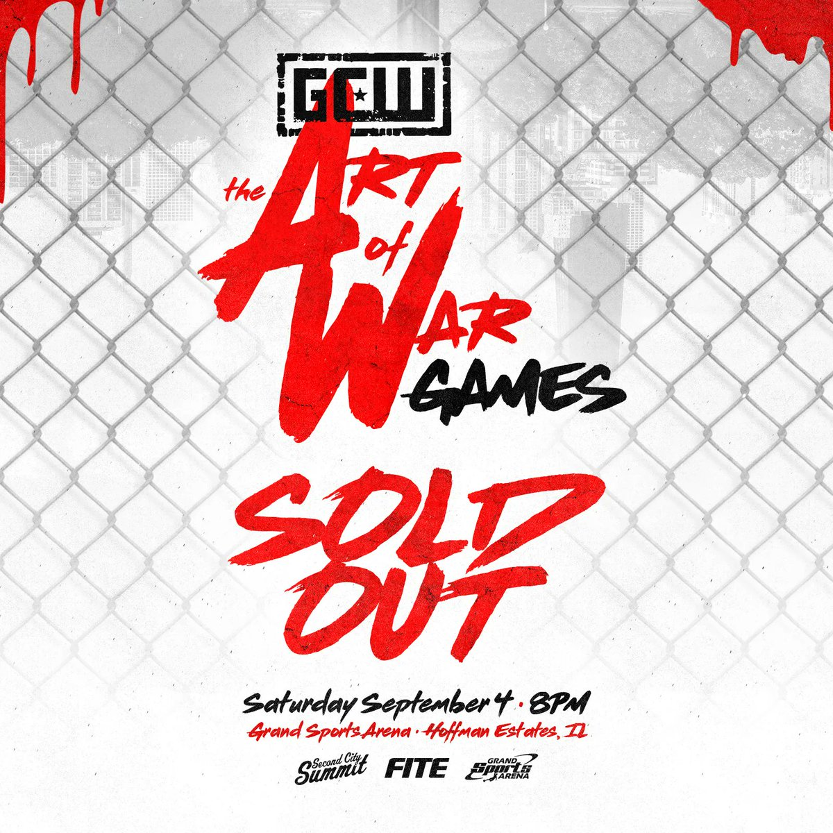 Poster for GCW Art of War Games